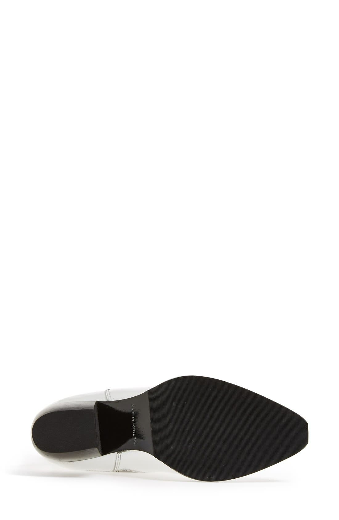 Alternate Image 4  - Topshop 'Margot' Leather Ankle Bootie (Women)