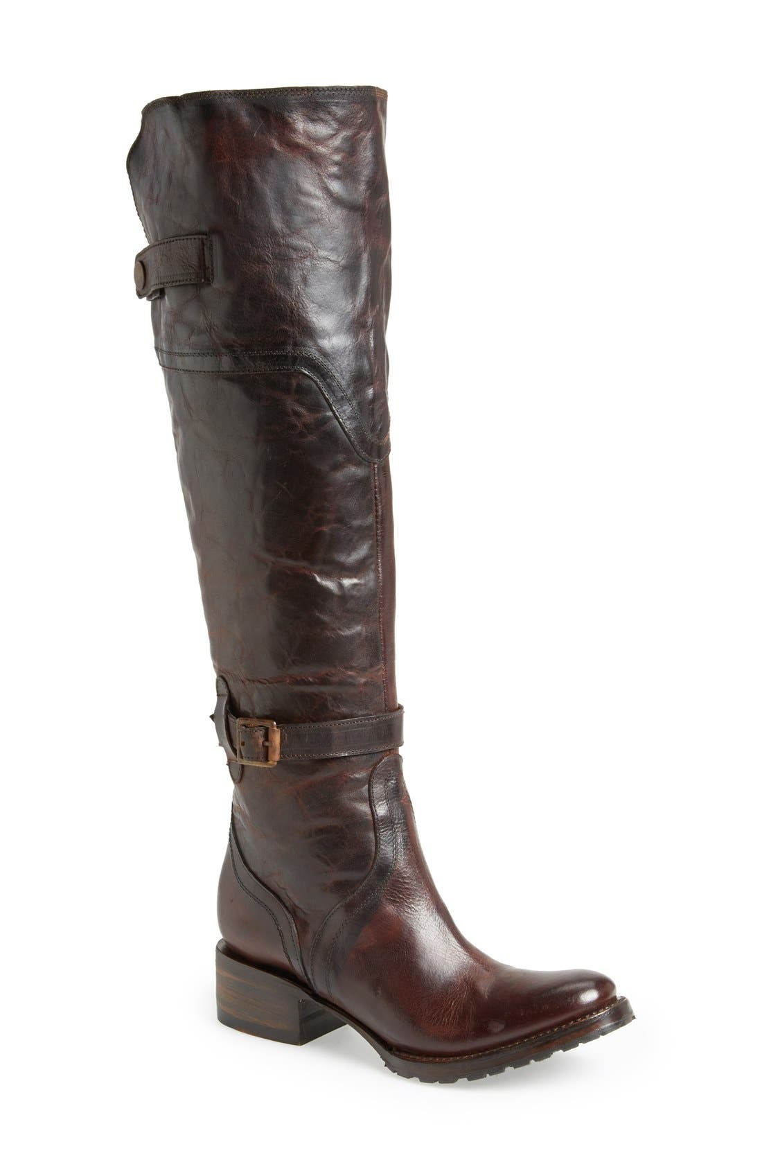 Alternate Image 1 Selected - Freebird by Steven 'Quebec' Leather Riding Boot (Women)