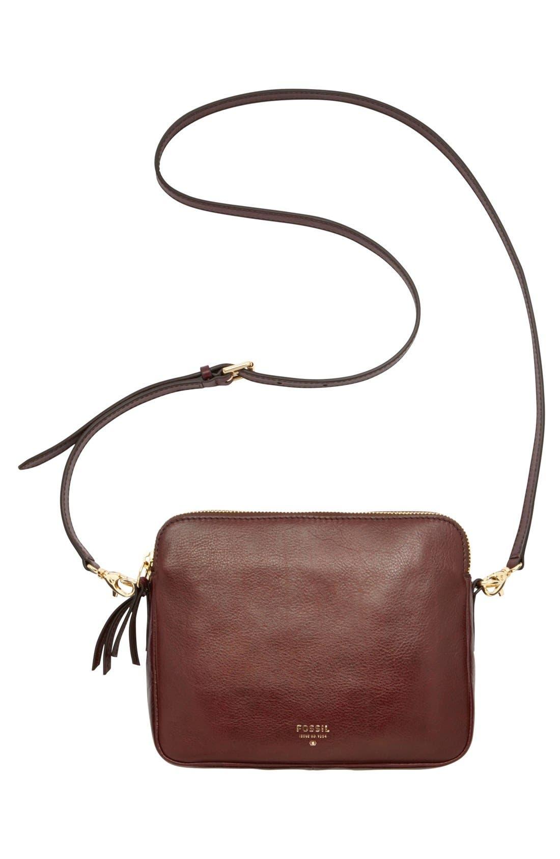 Alternate Image 2  - Fossil 'Sydney' Leather Crossbody Bag