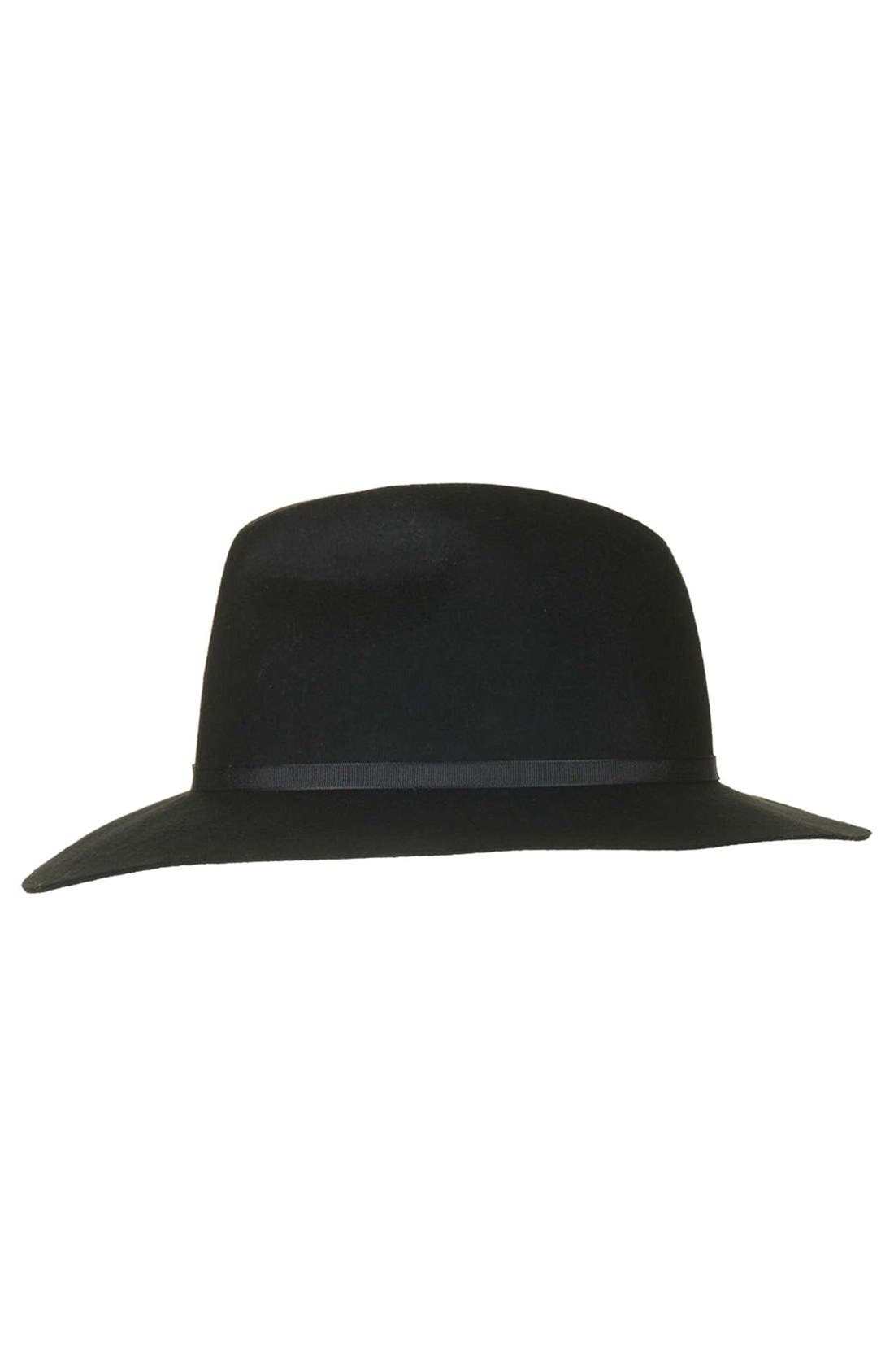 Alternate Image 1 Selected - Topshop Classic Fedora