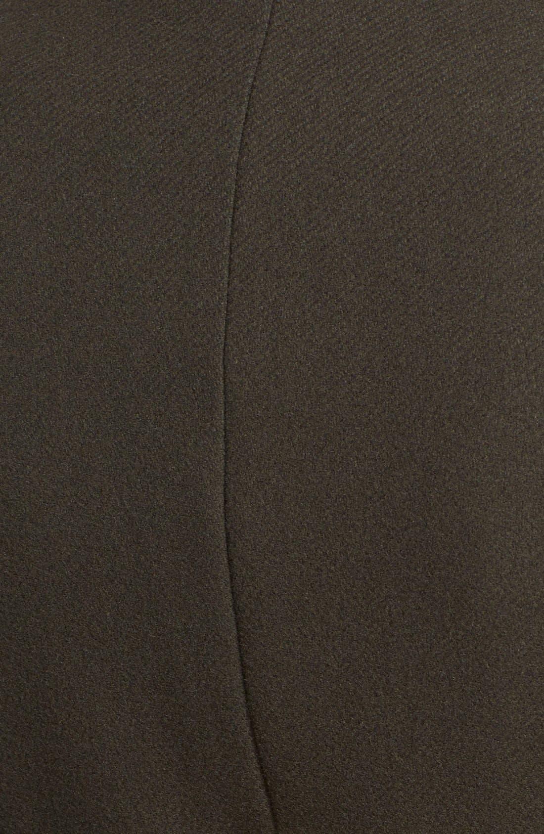 Alternate Image 3  - Elie Tahari 'India' Stand Collar Belted Wool Blend Coat