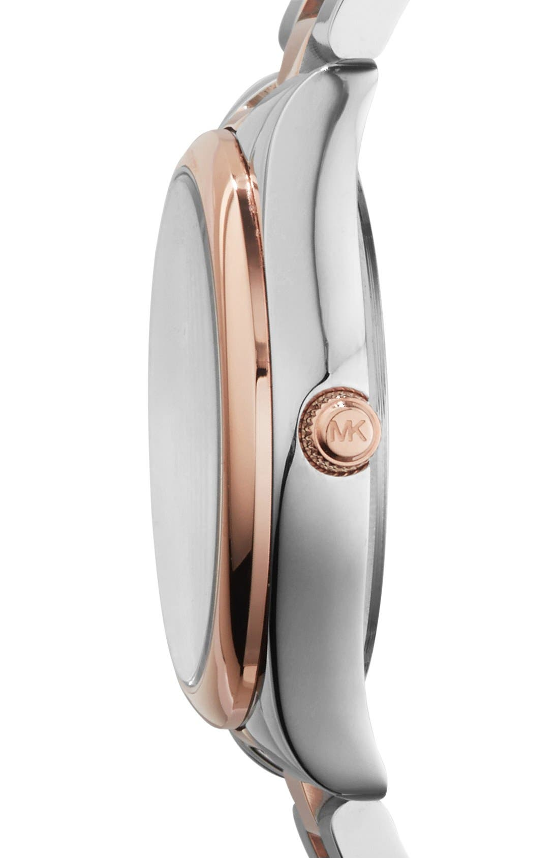 Alternate Image 3  - Michael Kors 'Colette' Round Bracelet Watch, 34mm