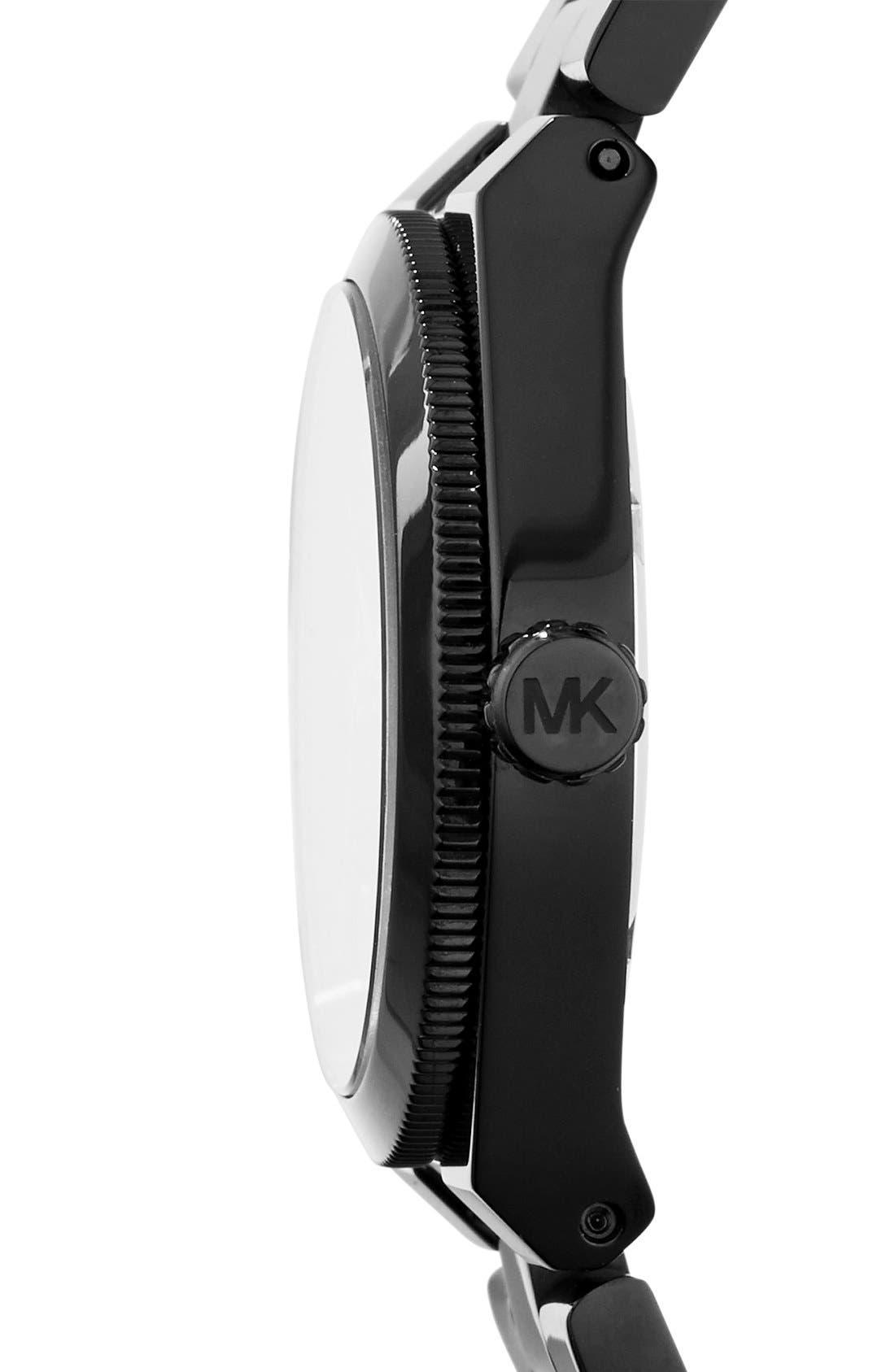 Alternate Image 3  - Michael Kors 'Mini Channing' Round Bracelet Watch, 33mm