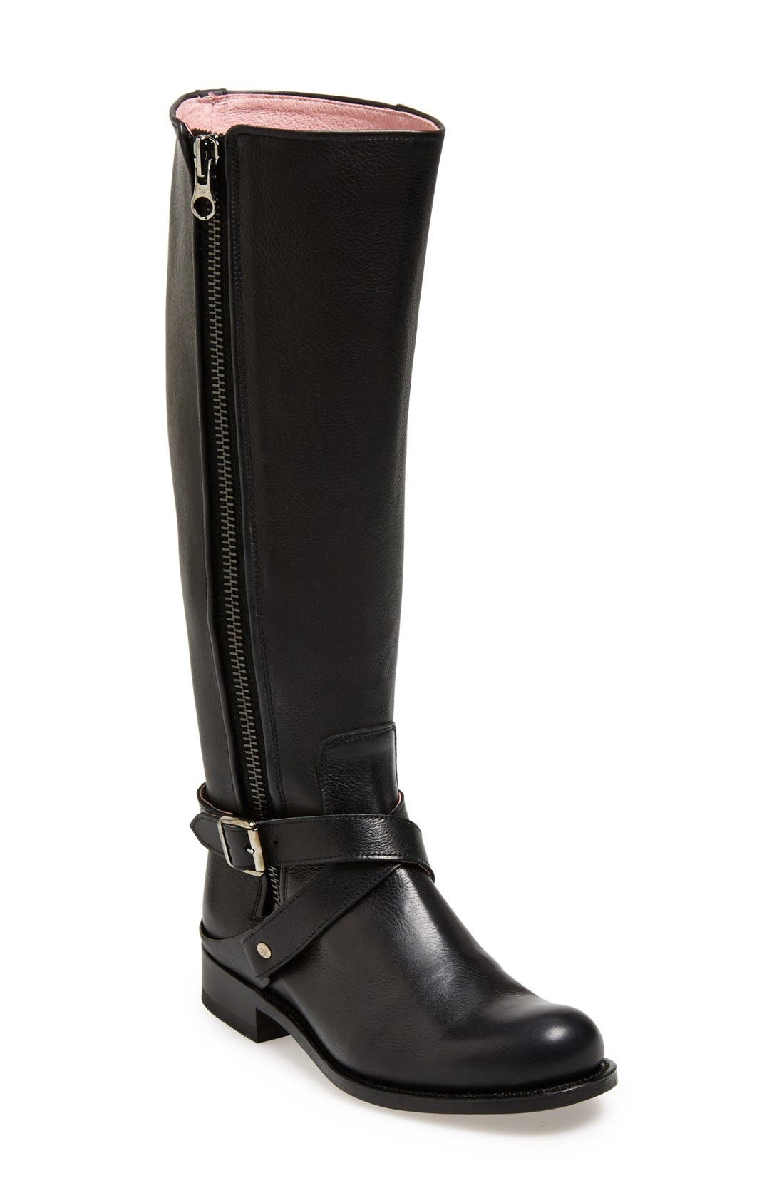 Alternate Image 1 Selected - Sendra Leather Tall Boot (Women)