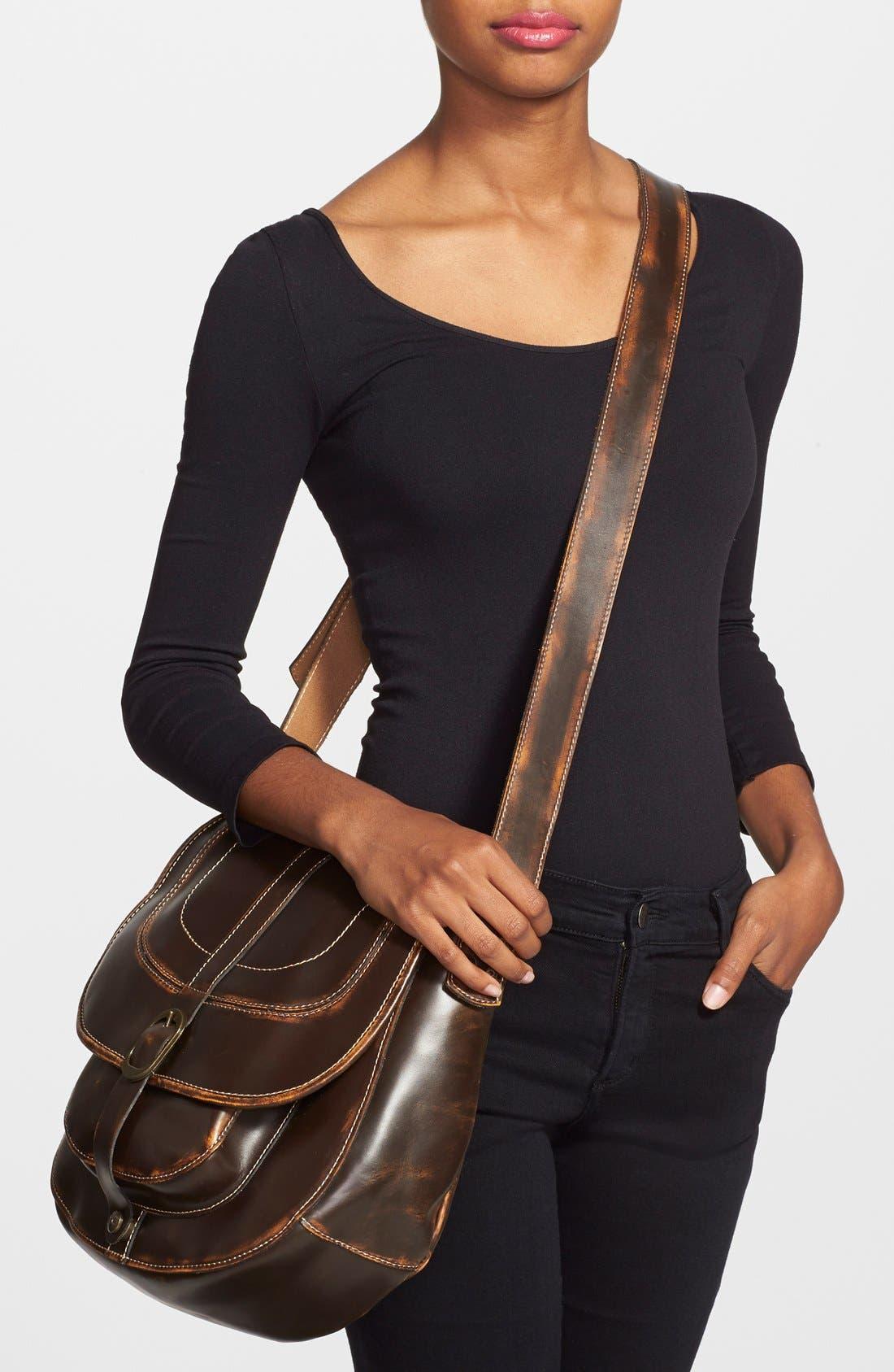 Alternate Image 2  - Patricia Nash 'Barcellona' Leather Crossbody Bag