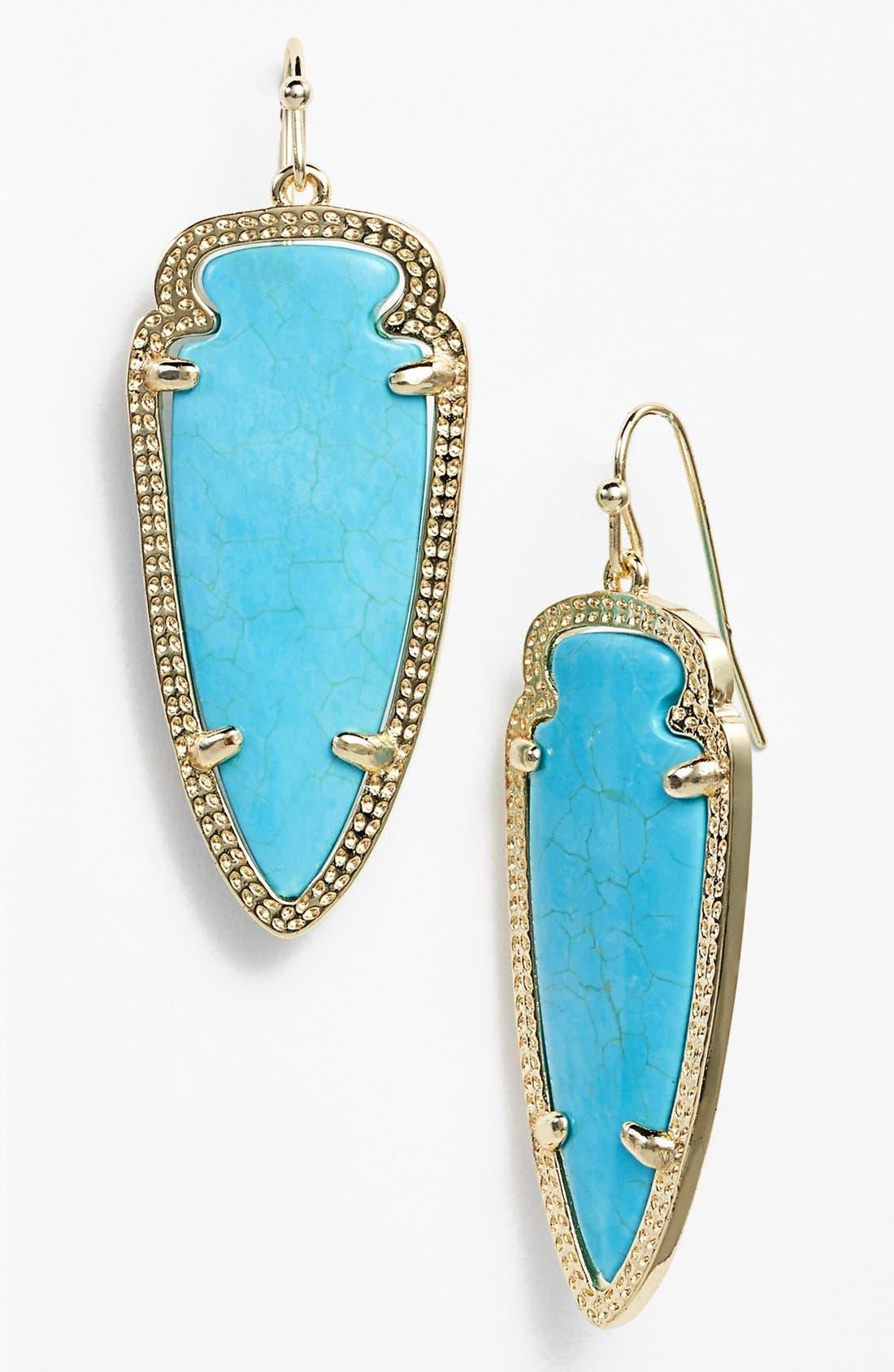 Main Image - Kendra Scott 'Sky Spear' Small Statement Earrings