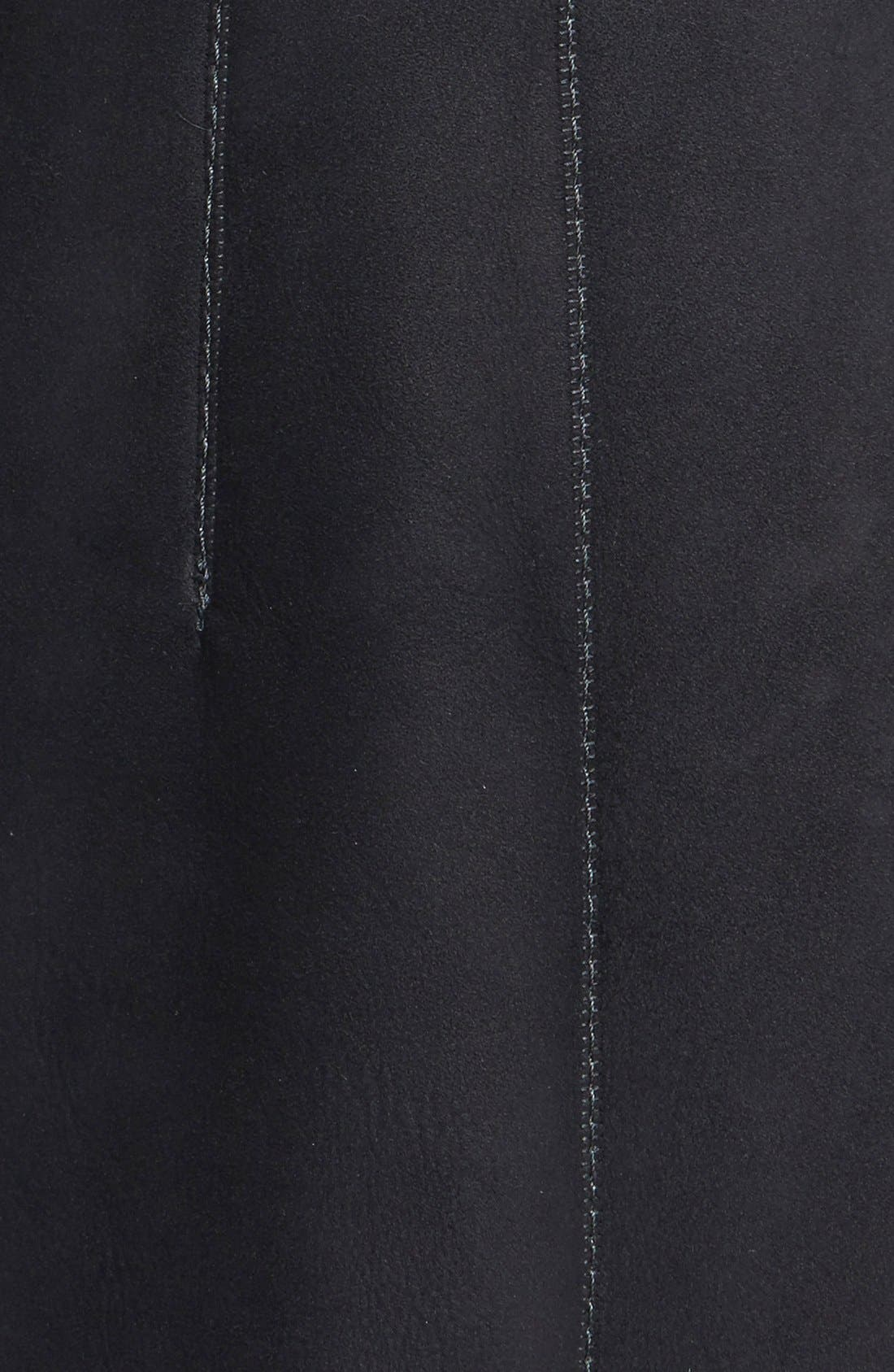 Alternate Image 3  - HIDESOCIETY Envelope Collar Genuine Toscana Shearling Coat
