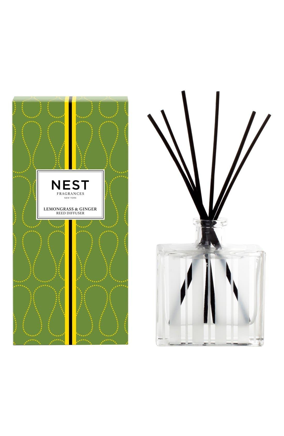 Alternate Image 1 Selected - NEST Fragrances 'Lemongrass & Ginger' Reed Diffuser