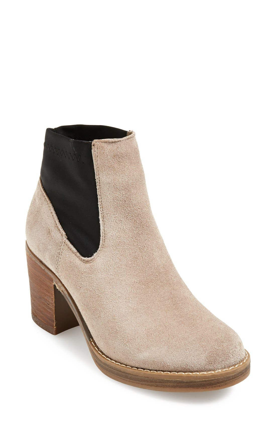 Alternate Image 1 Selected - MTNG Originals 'Becky' Suede Chelsea Boot (Women)