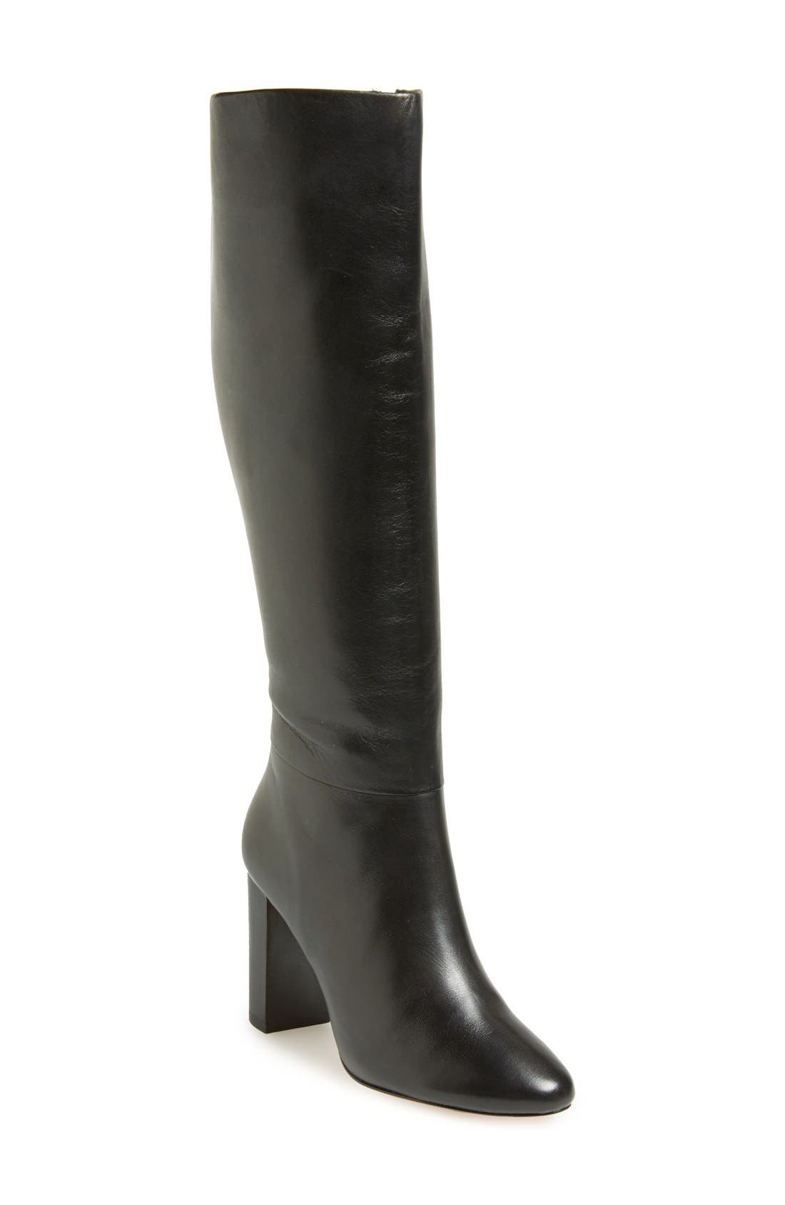 Alternate Image 1 Selected - Ted Baker London 'Lothari' Knee High Leather Boot (Women)