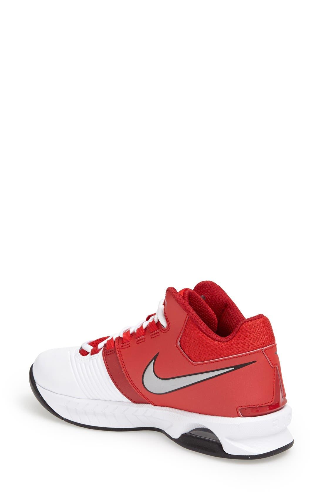 Alternate Image 2  - Nike 'Air Visi Pro V' Basketball Shoe (Women)