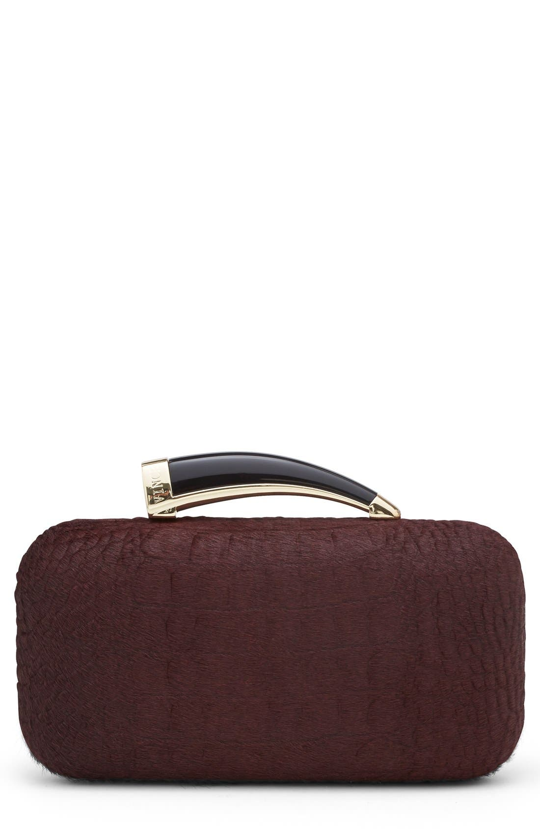 Alternate Image 1 Selected - Vince Camuto 'Horn' Clutch