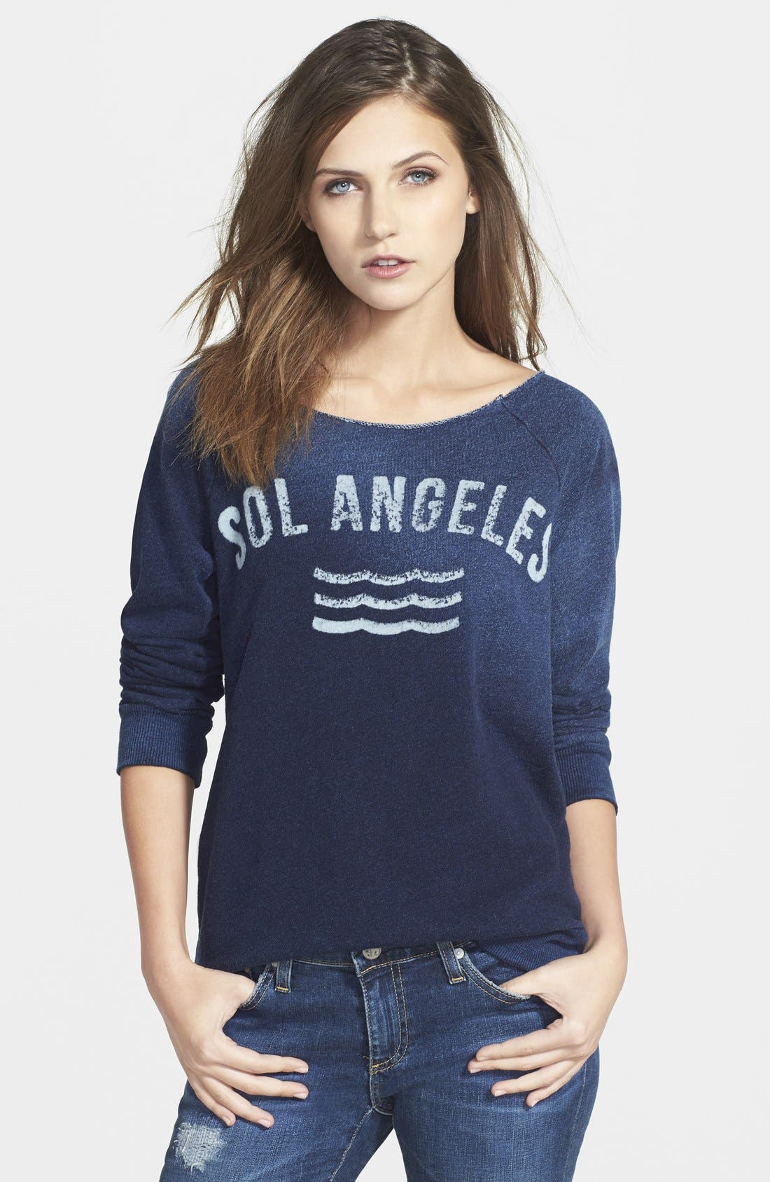 Alternate Image 1 Selected - Sol Angeles 'New Arc' Pullover