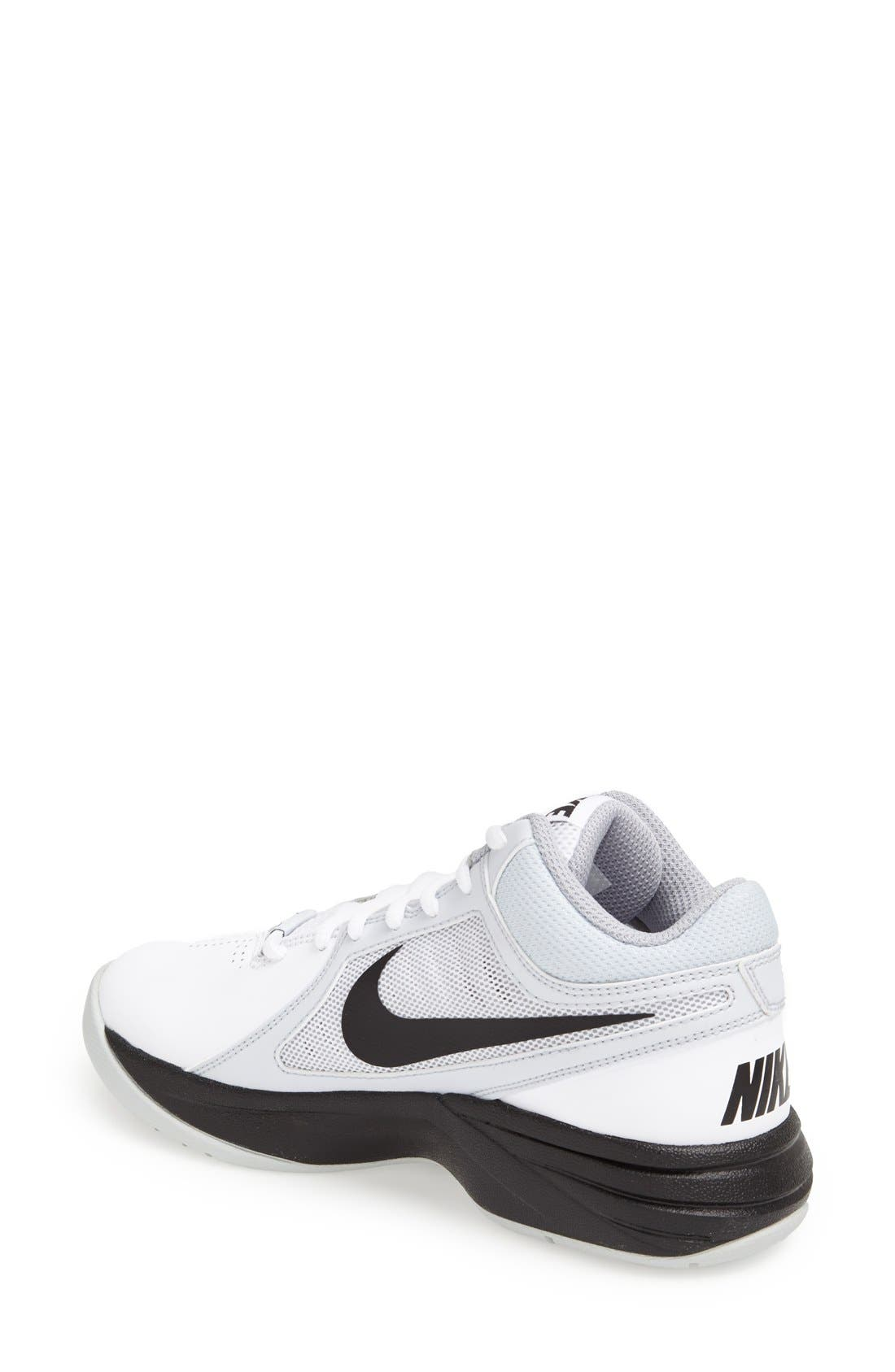 Alternate Image 2  - Nike 'Overplay VIII' Basketball Shoe (Women)