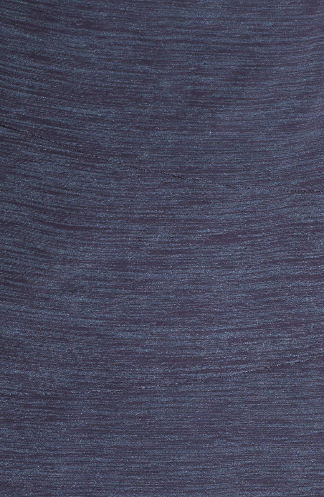 Alternate Image 4  - Tahari Tiered Jersey Sheath Dress (Petite)