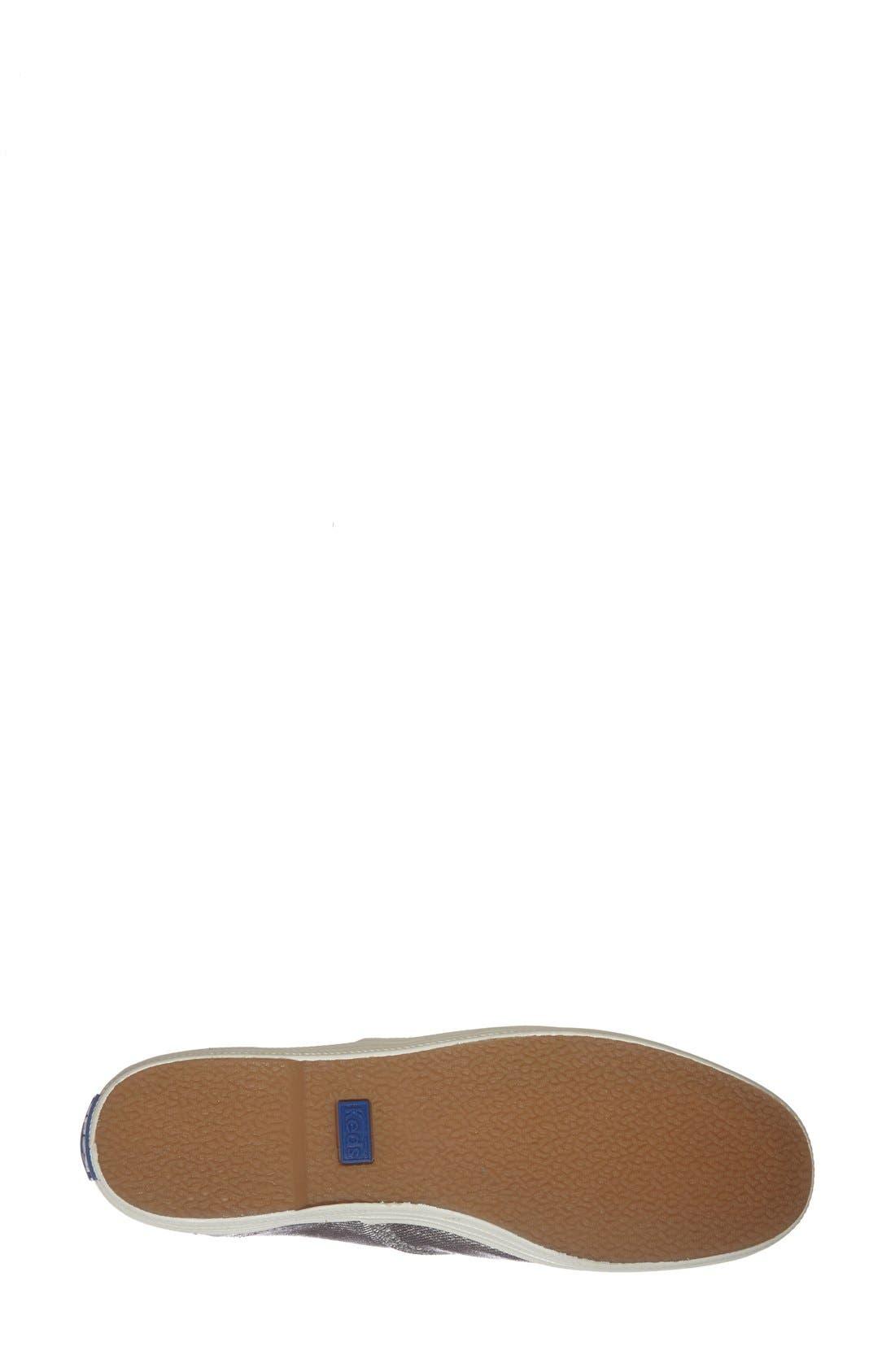 Alternate Image 4  - Keds® 'Champion - Metallic' Sneaker (Women) (Regular Retail Price: $49.95)