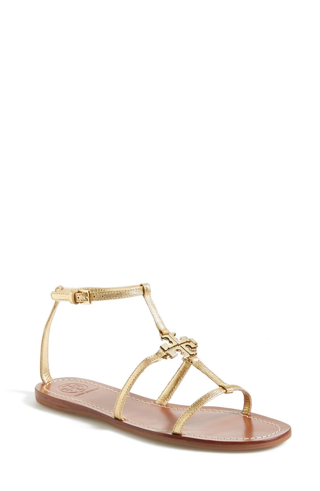 Alternate Image 1 Selected - Tory Burch 'Lowell' Leather Sandal (Women)
