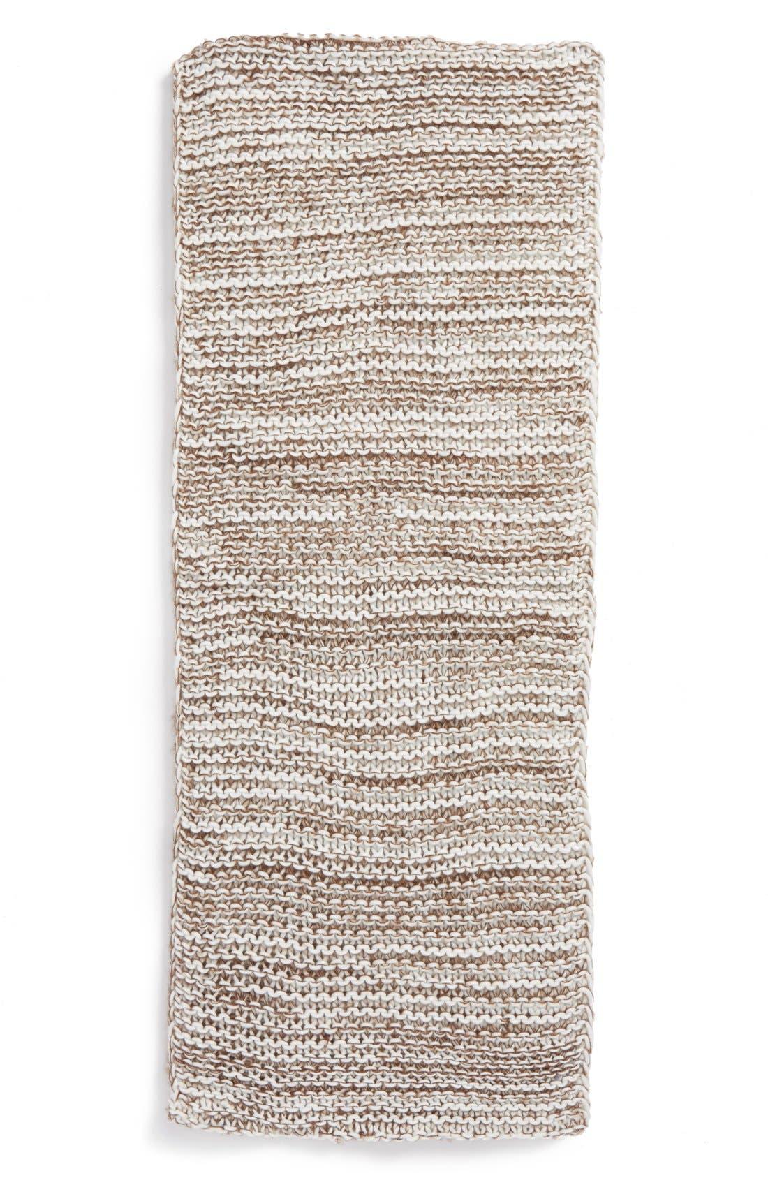 Alternate Image 2  - BP. Marled Stripe Knit Infinity Scarf (Juniors)