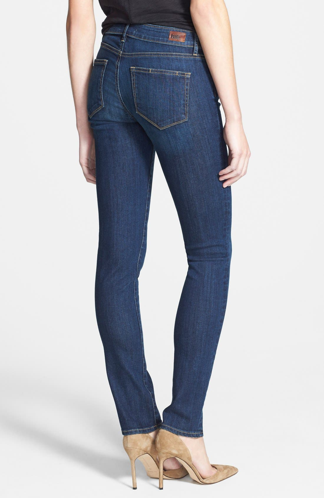 Alternate Image 2  - Paige Denim 'Skyline' Skinny Jeans (Lange)