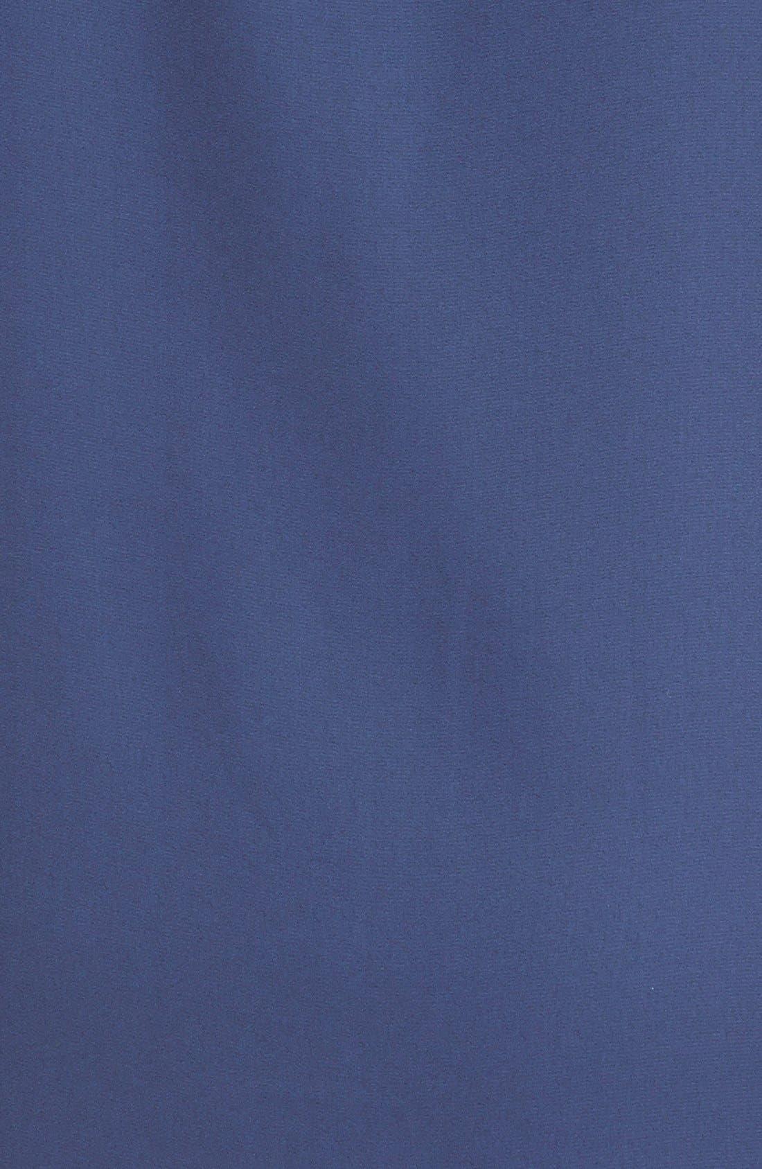 Alternate Image 3  - Everly Roll Tab Sleeve Shift Dress (Juniors)
