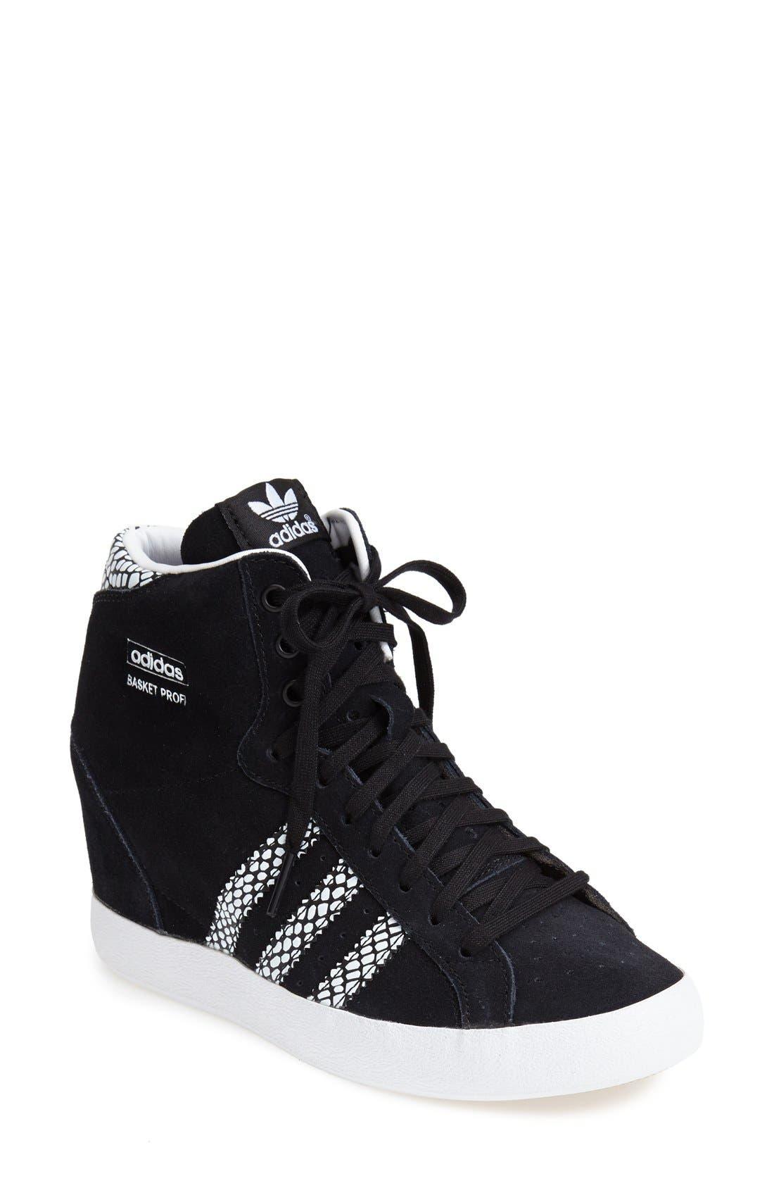 Alternate Image 1 Selected - adidas Hidden Wedge Sneaker (Women)