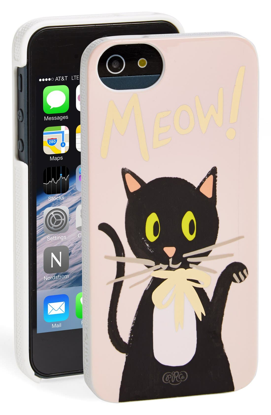 Alternate Image 1 Selected - Rifle Paper Co. 'Meow' iPhone 5 & 5s Case