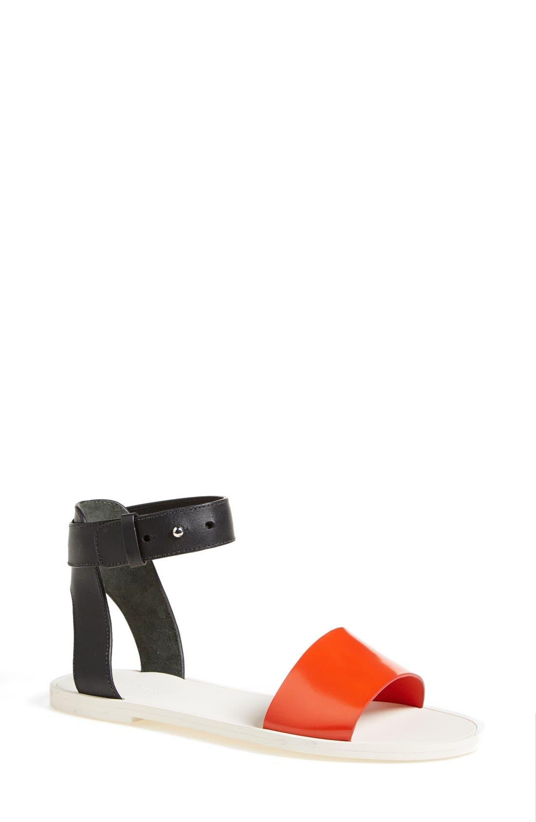 Alternate Image 1 Selected - Vince 'Sawyer' Colorblock Sandal (Women)