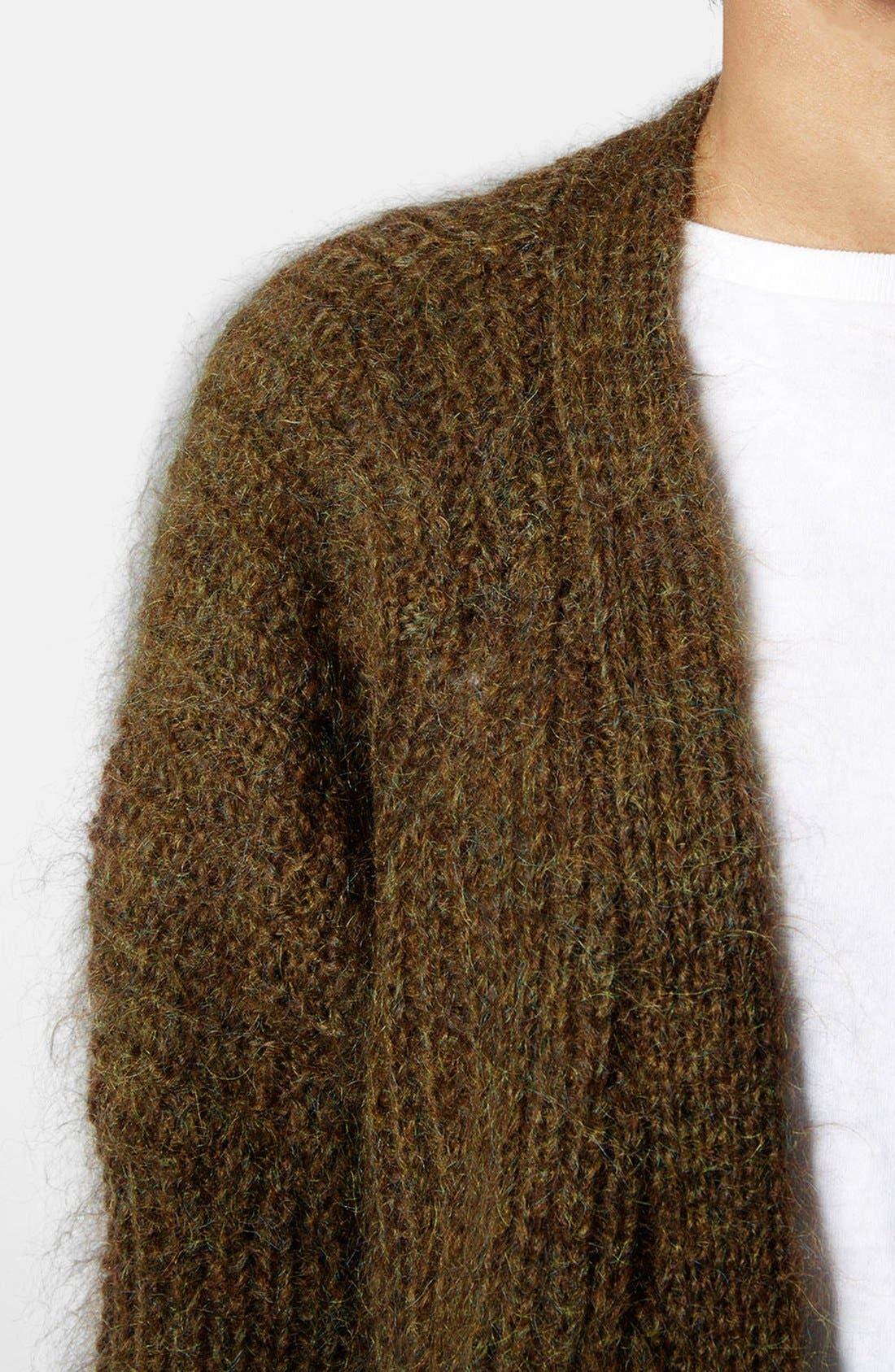 Alternate Image 4  - Topshop Luxe Cocoon Cardigan