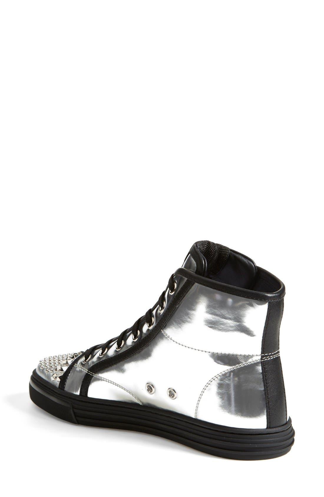 Alternate Image 2  - Gucci 'California' Studded Sneaker (Women)