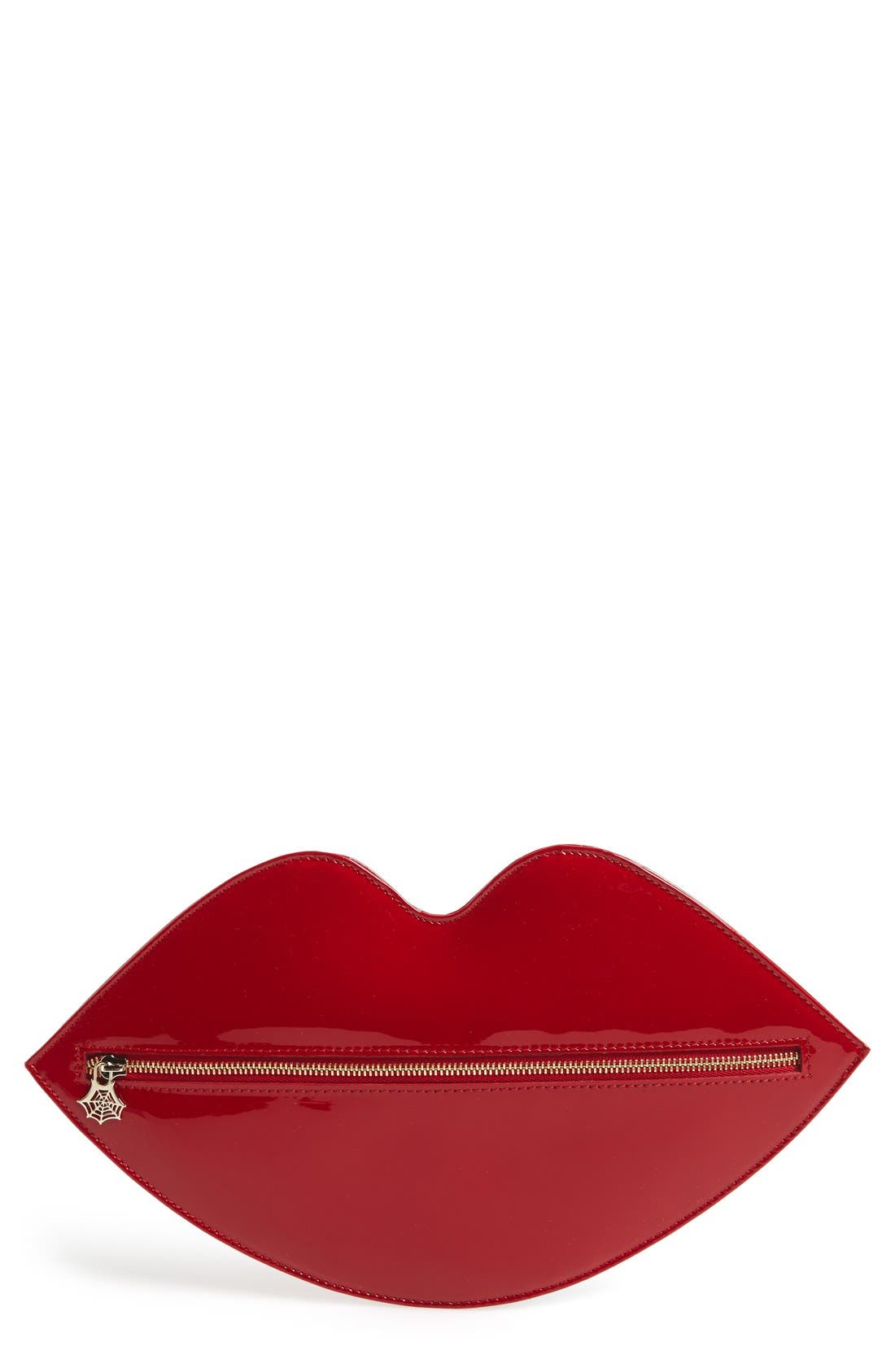 Alternate Image 1 Selected - Charlotte Olympia Lip Shaped Clutch