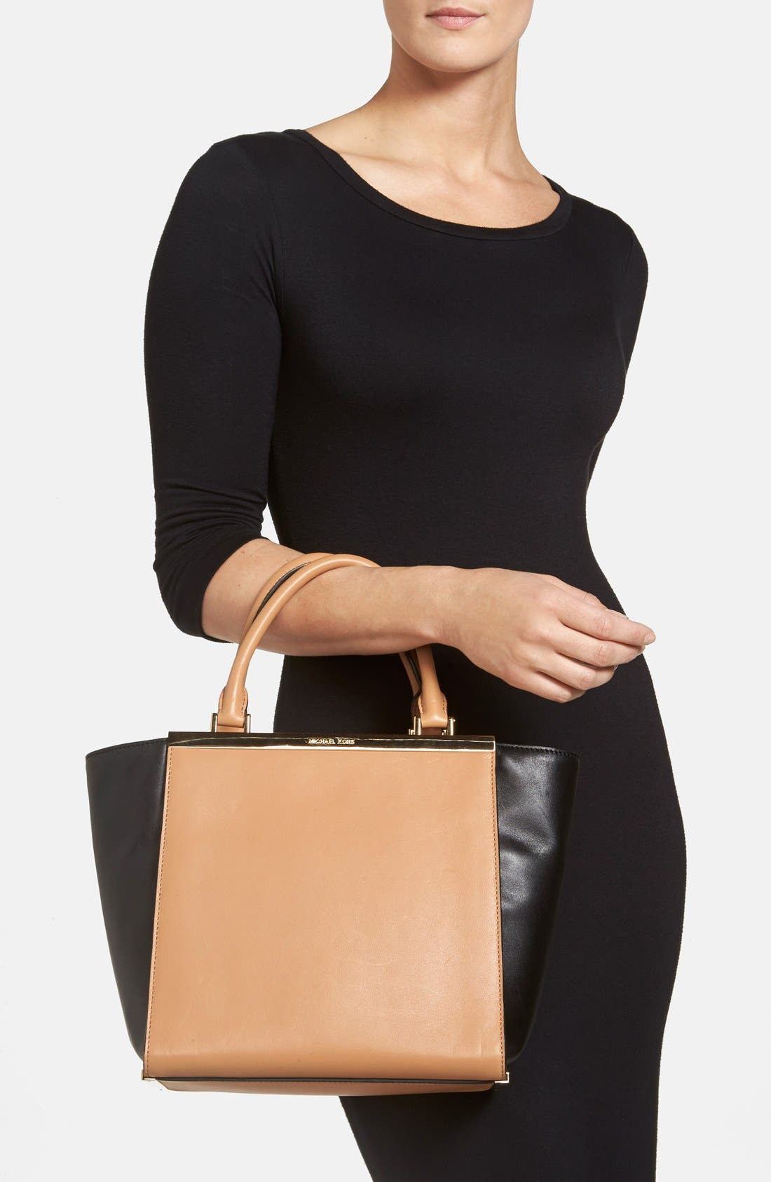 Alternate Image 2  - MICHAEL Michael Kors 'Lana Medium' Leather Tote