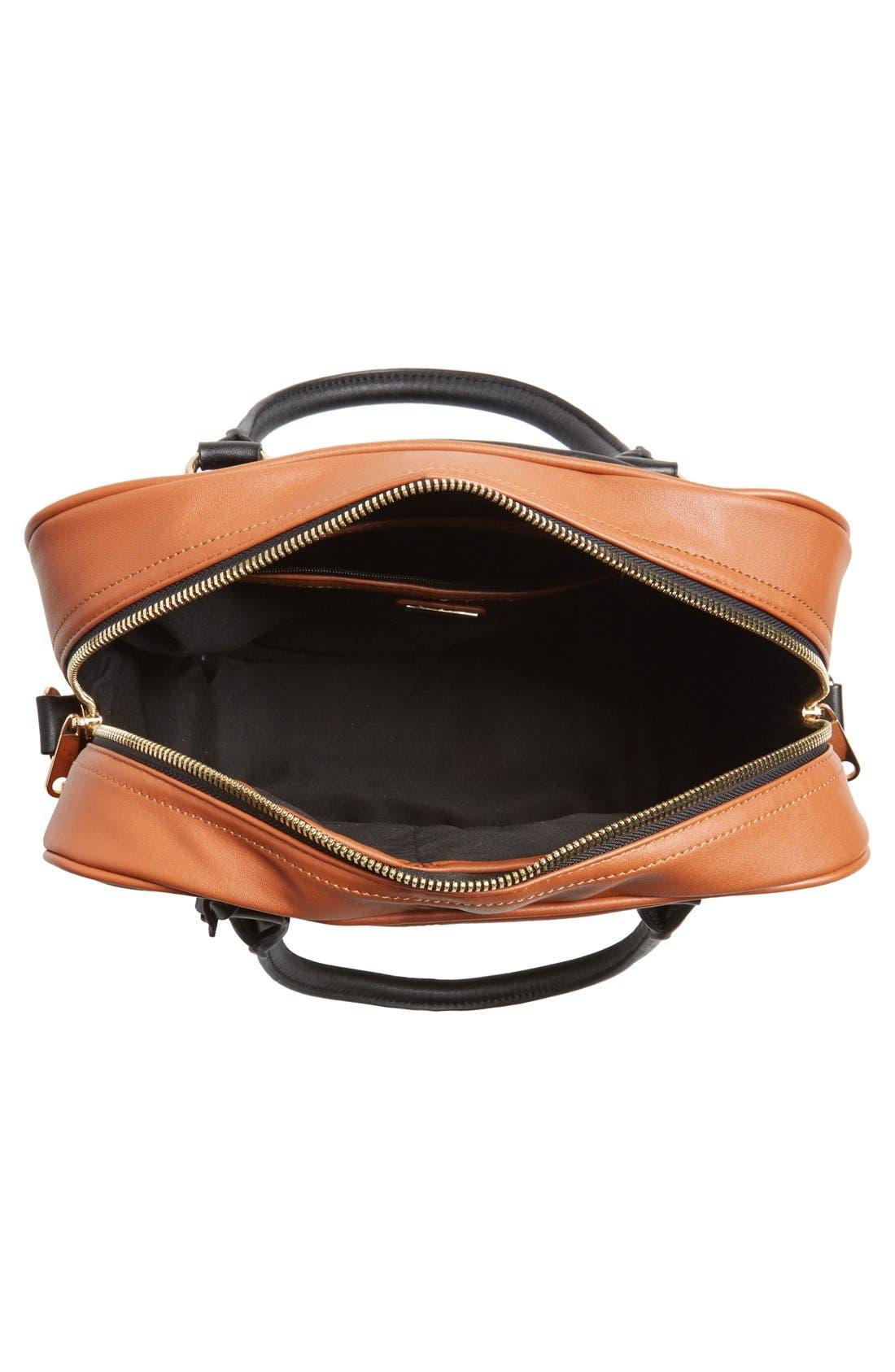 Alternate Image 3  - kensie 'Block Party' Color Block Handbag
