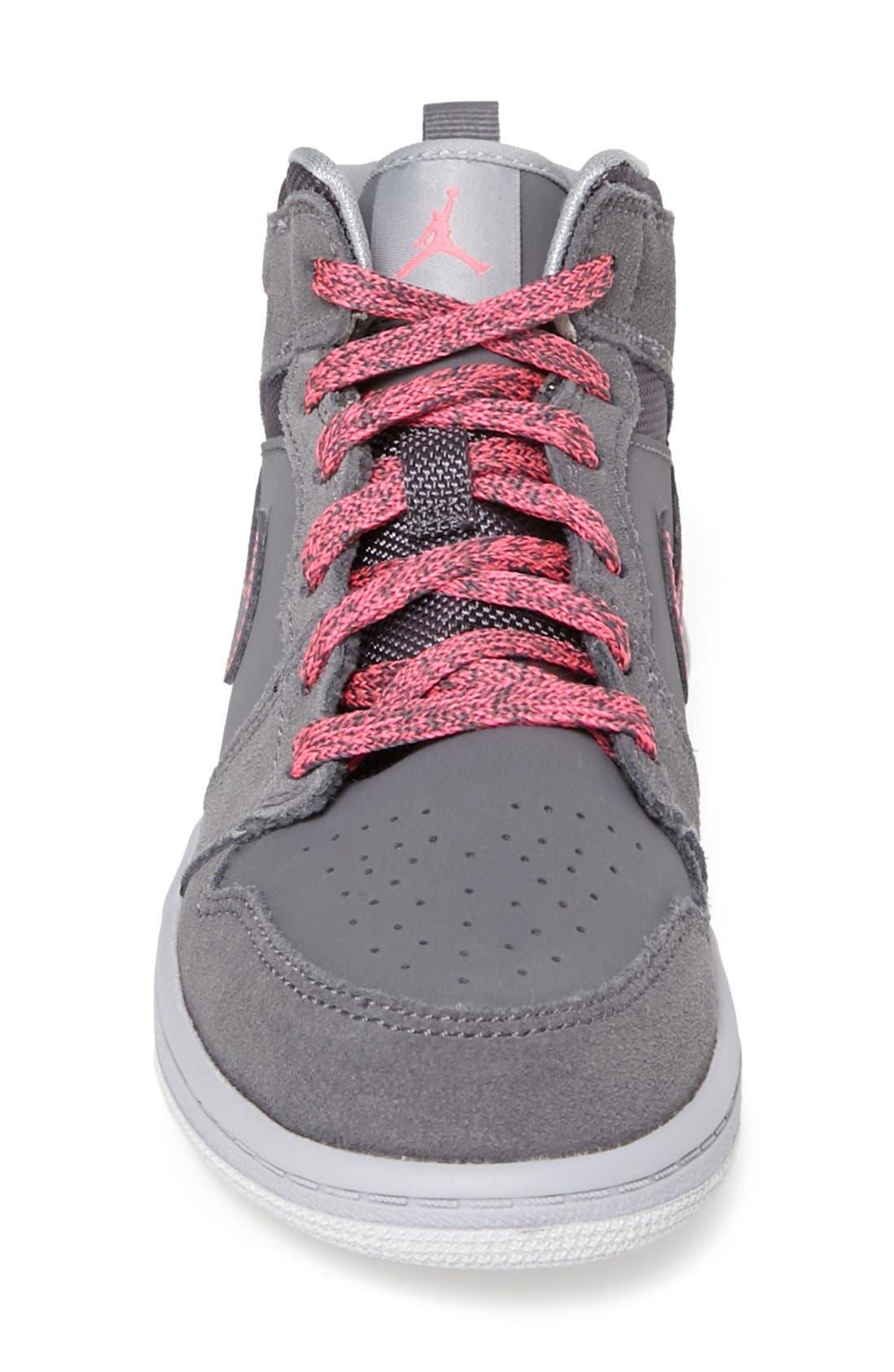 Alternate Image 3  - Nike 'Air Jordan 1 Mid' Sneaker (Toddler & Little Kid)