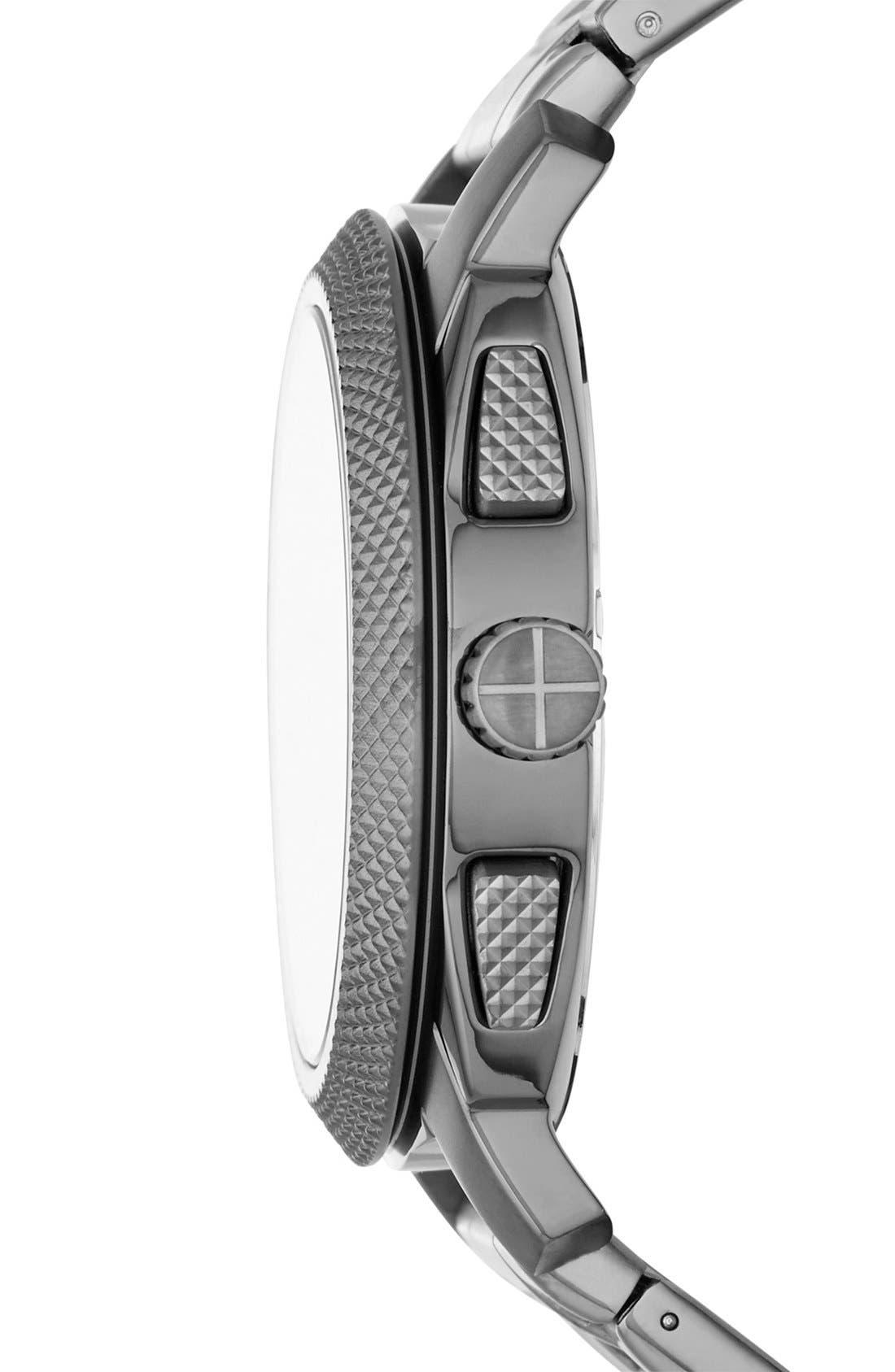 Alternate Image 3  - Fossil 'Machine' Chronograph Bracelet Watch, 45mm