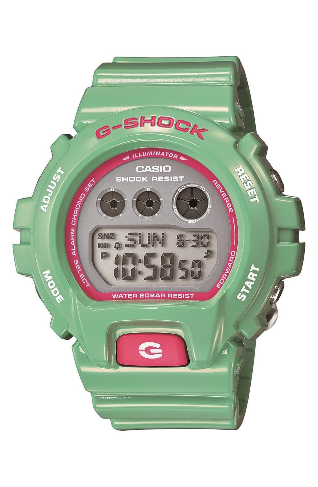 Alternate Image 1 Selected - G-Shock Digital Watch, 49mm x 45mm