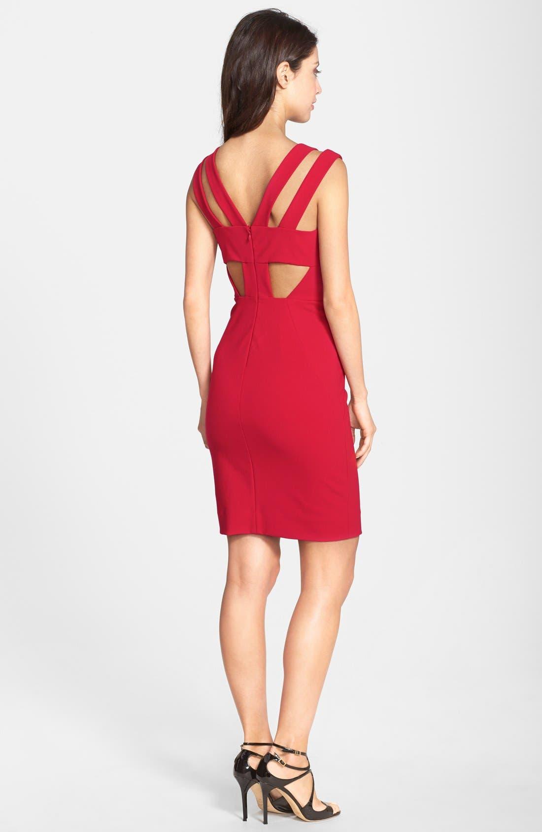 Alternate Image 2  - Nicole Miller 'Techy Dream' Cutout Body-Con Dress
