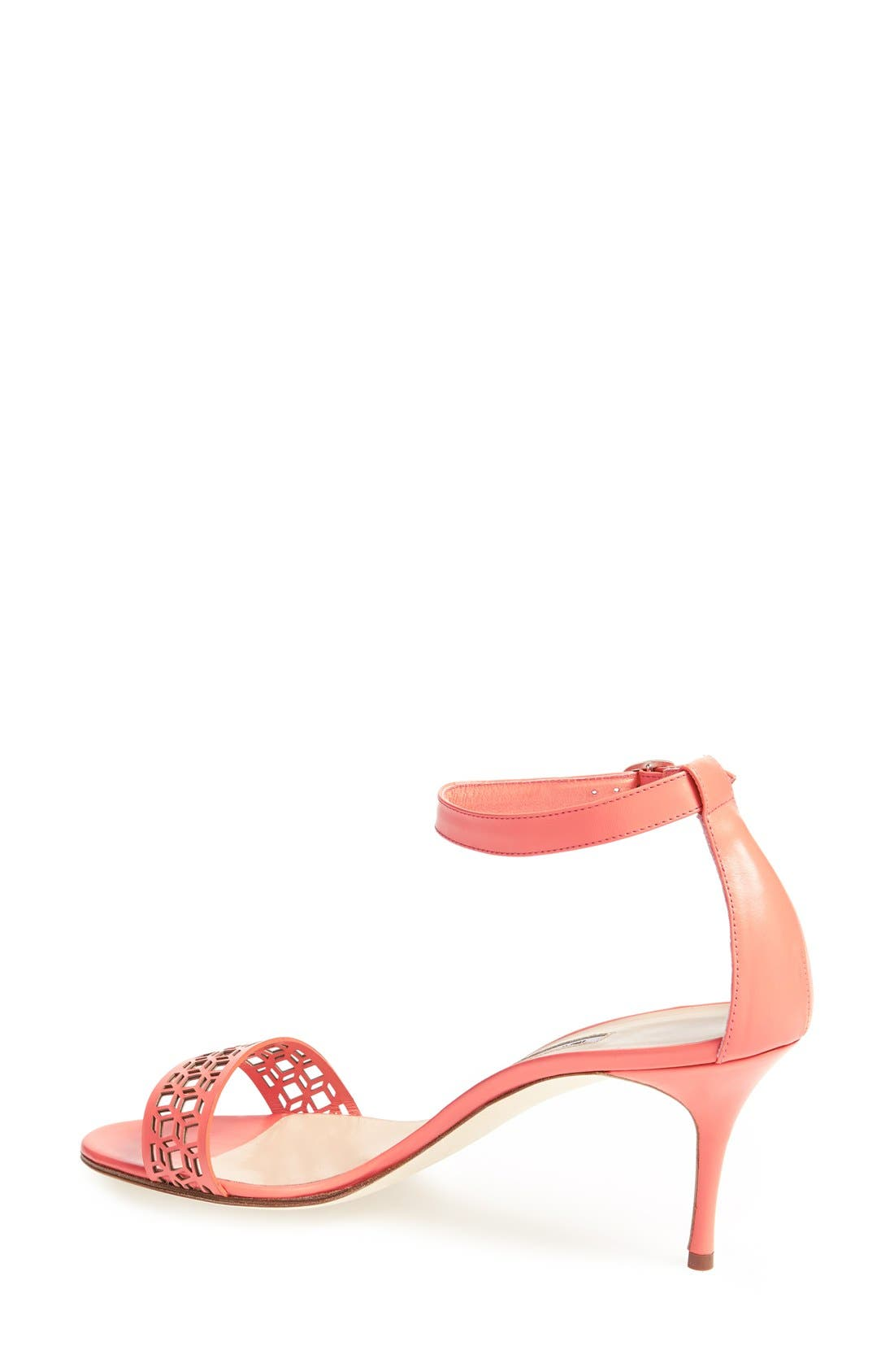 Alternate Image 2  - Manolo Blahnik 'Maurila' Leather Ankle Strap Sandal (Women)