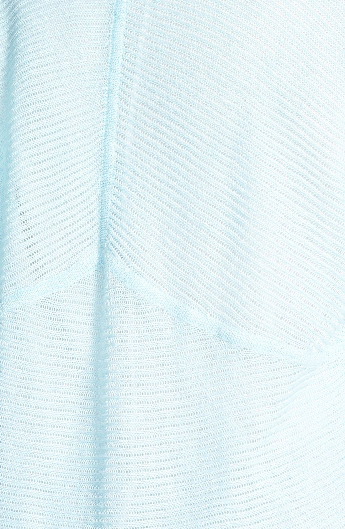 Alternate Image 3  - Eileen Fisher Shaped Linen Cardigan (Plus Size)