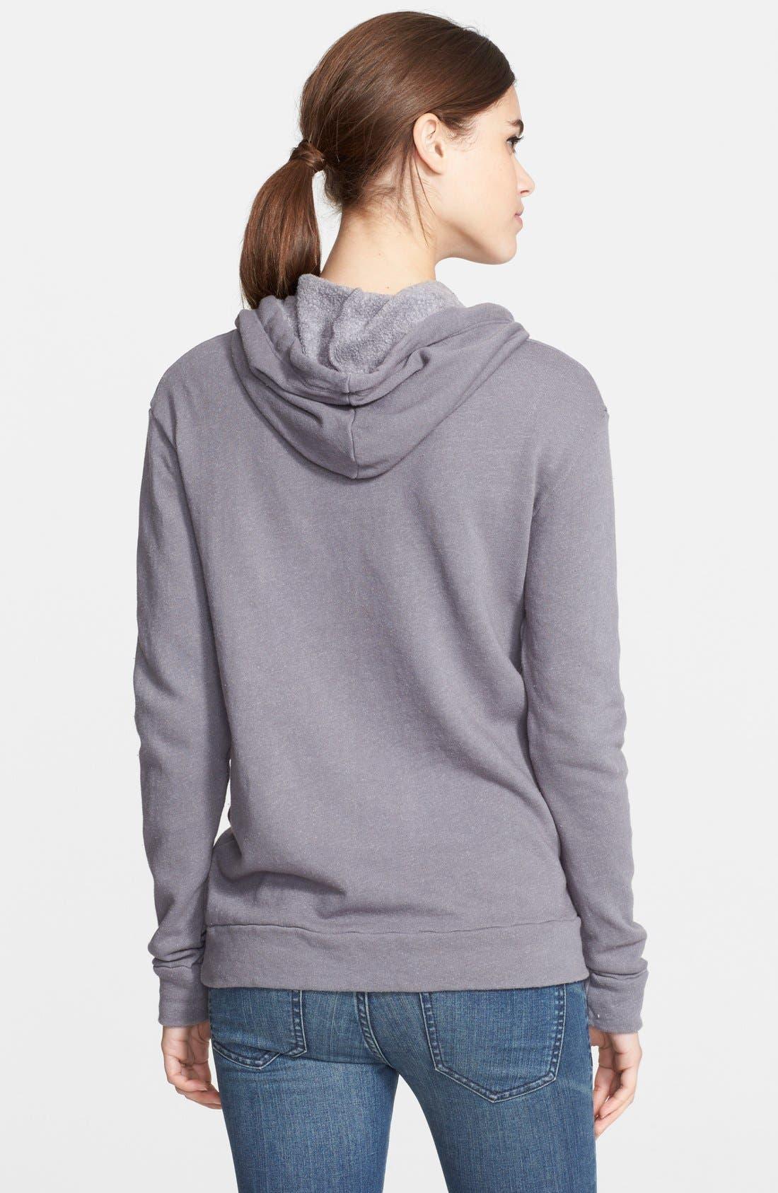Alternate Image 2  - Rodarte Hooded Sweatshirt