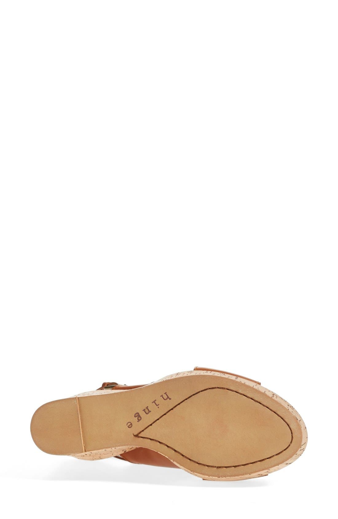 Alternate Image 4  - Hinge 'Hannah' Wedge Sandal (Women)