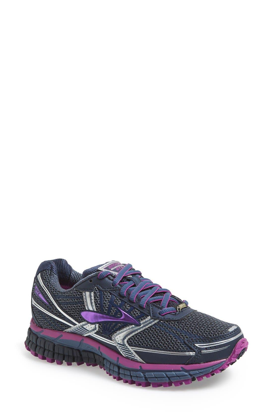 Alternate Image 1 Selected - Brooks 'Adrenaline ASR 11 GTX' Waterproof Running Shoe (Women)