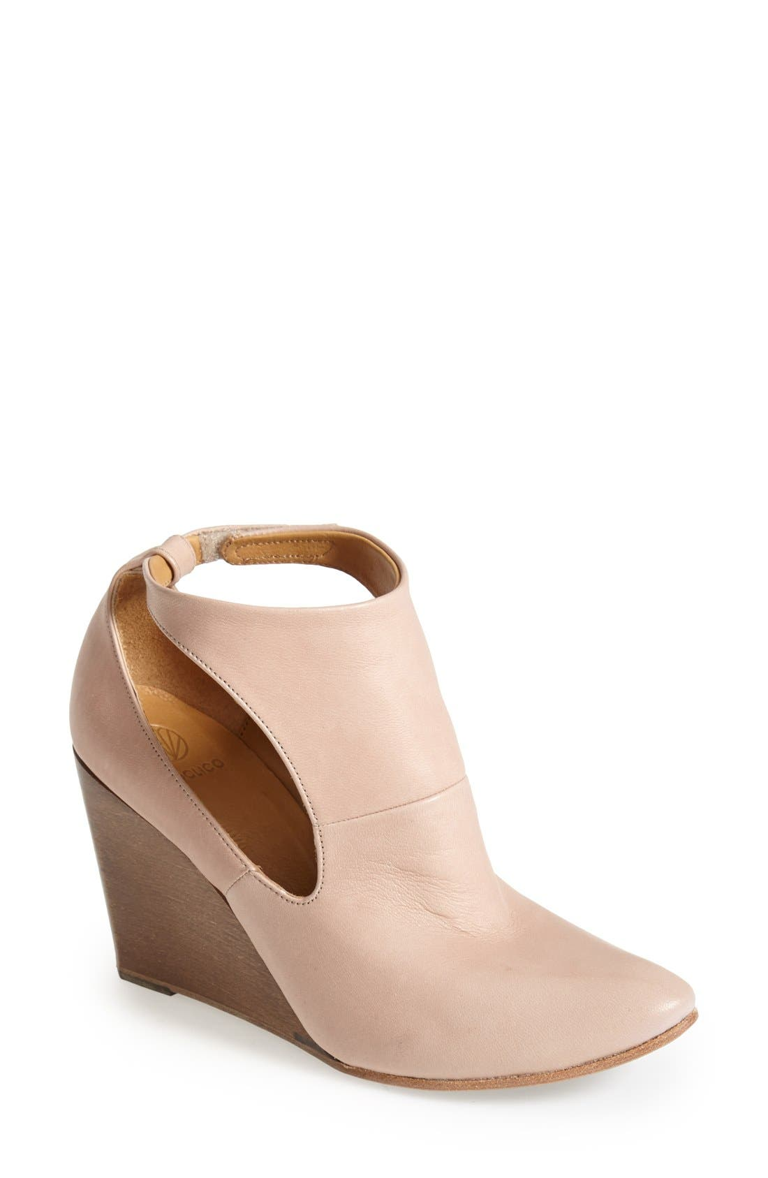 Alternate Image 1 Selected - Coclico 'Jory' Cutout Leather Bootie (Women)