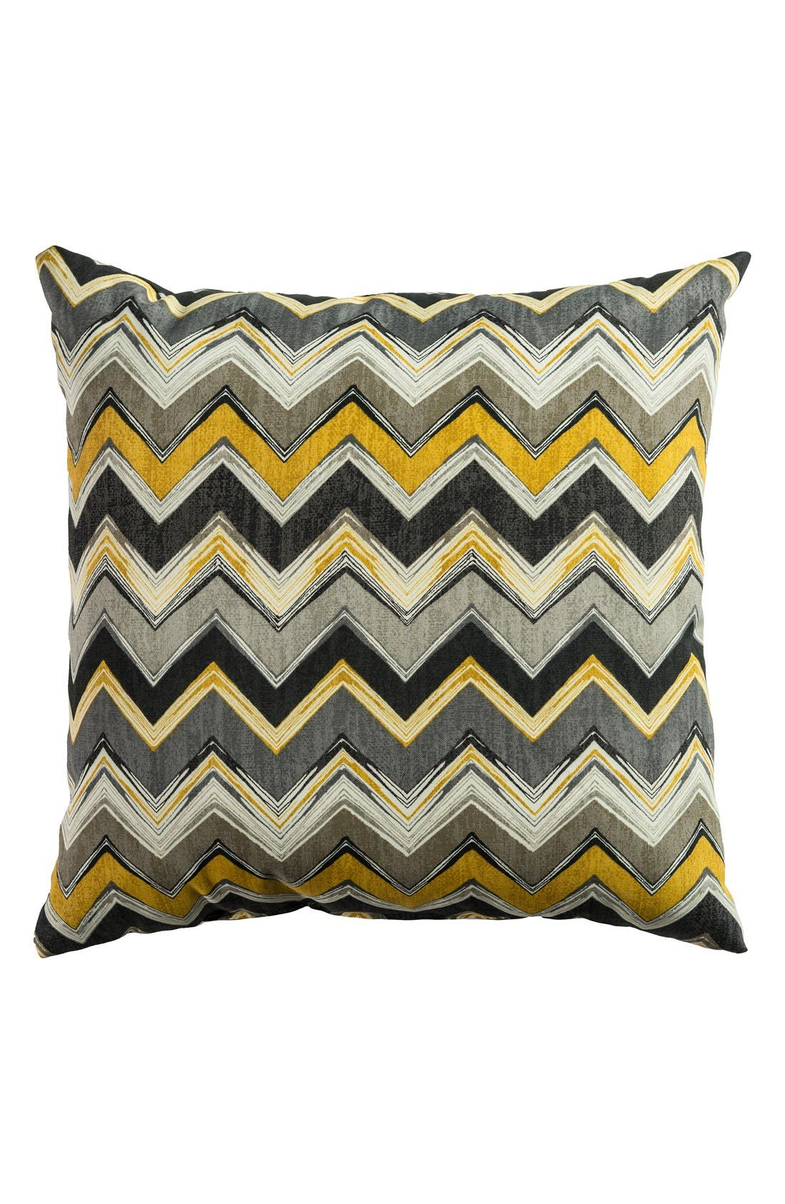 Alternate Image 1 Selected - Rizzy Home Chevron Outdoor Pillow