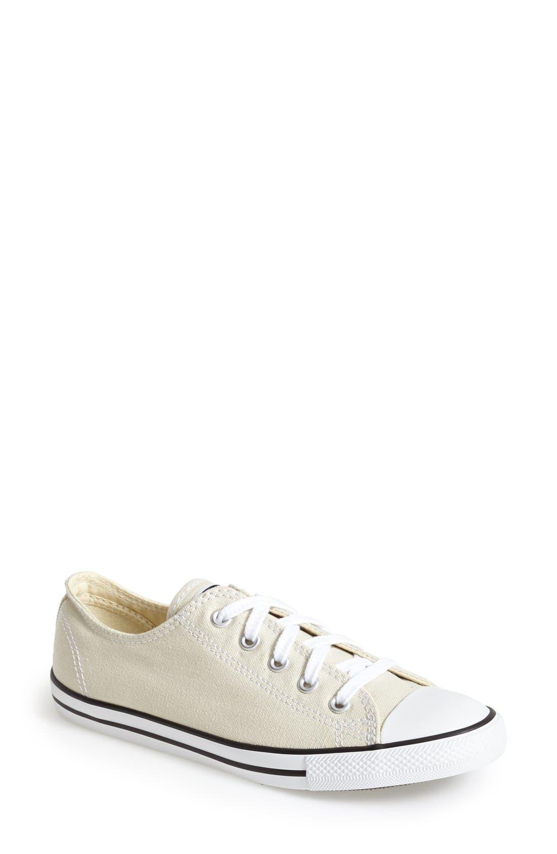 Alternate Image 1 Selected - Converse Chuck Taylor® 'Dainty' Sneaker (Women)