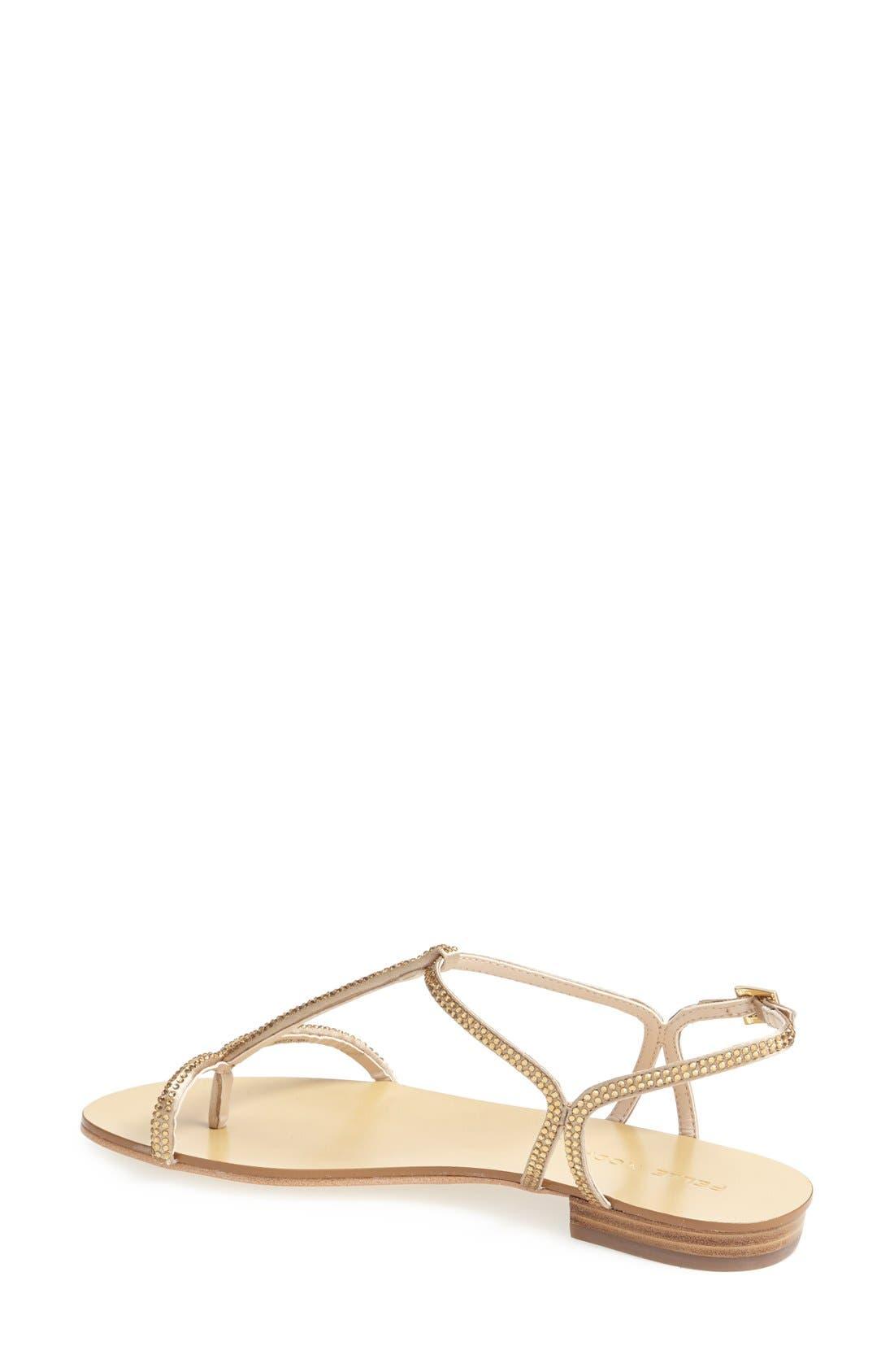 Alternate Image 2  - Pelle Moda 'Becca' T Strap Thong Sandal (Women)