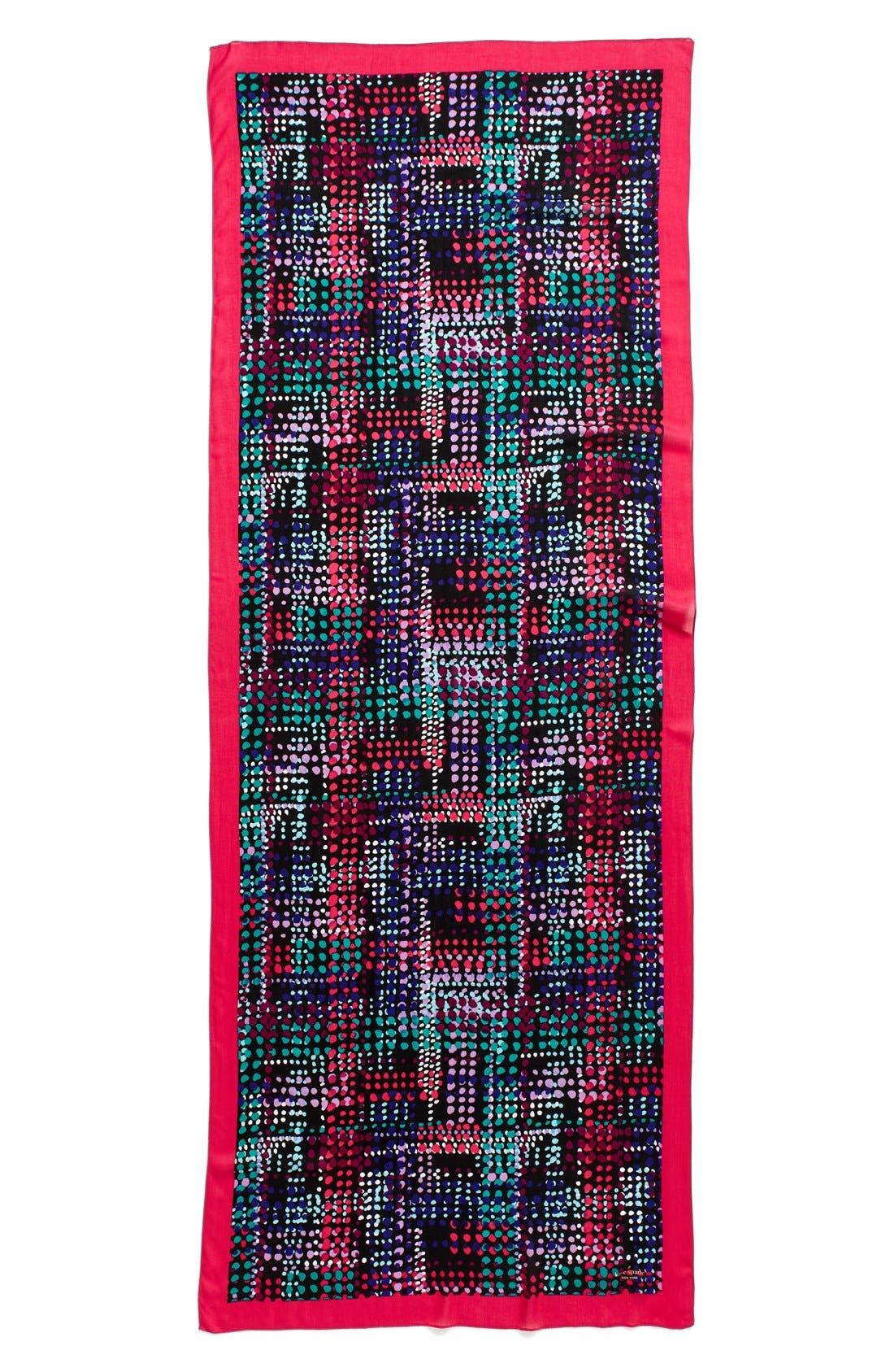 Alternate Image 2  - kate spade new york dotty oblong scarf
