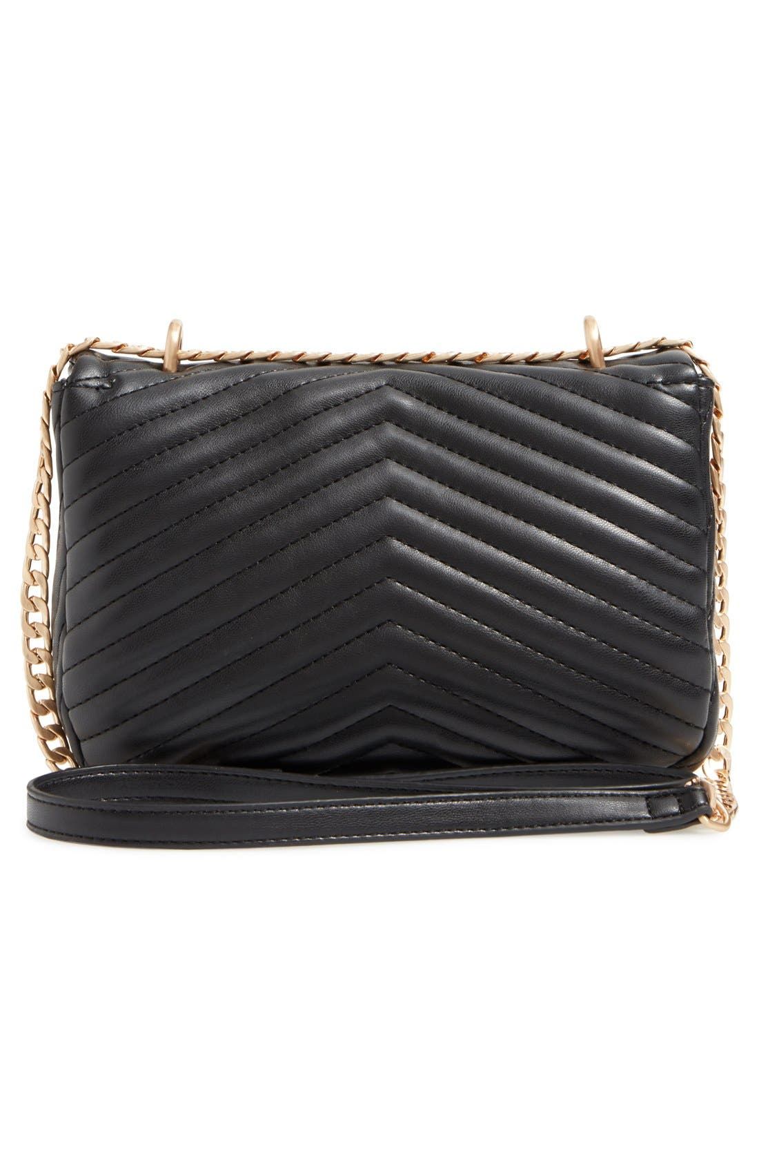 Alternate Image 3  - Topshop Quilted Crossbody Bag
