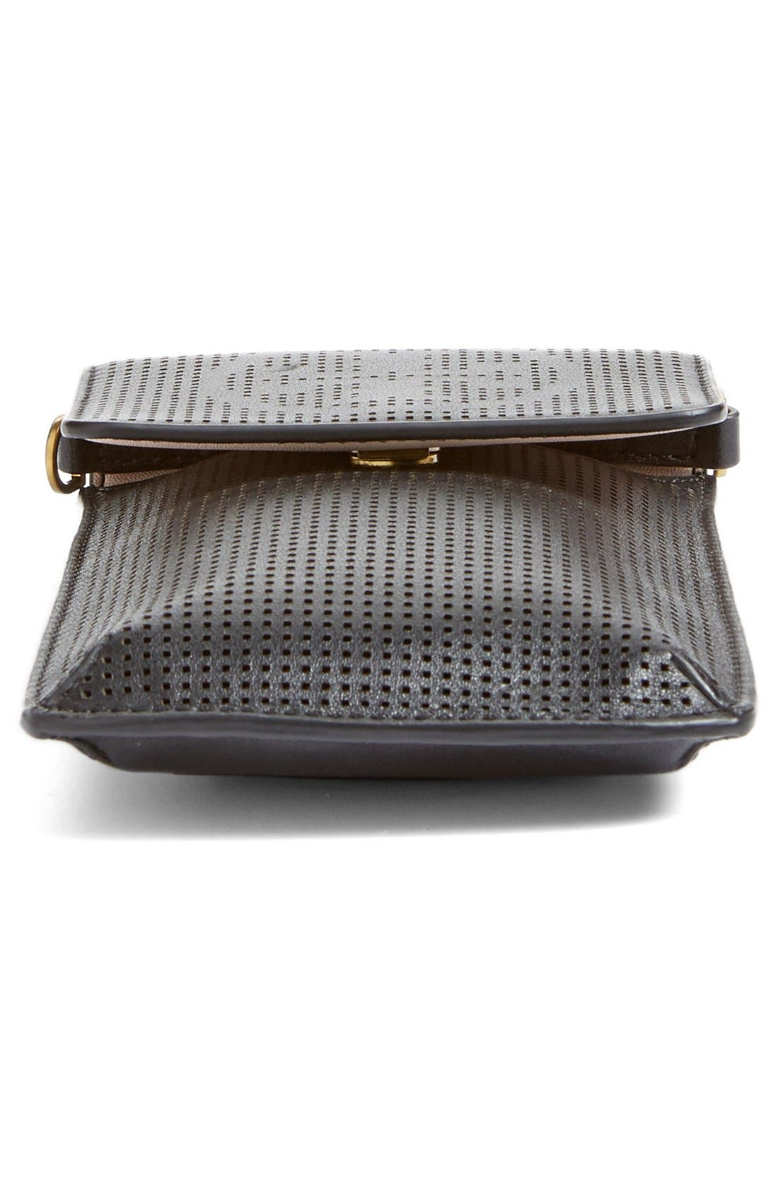 Alternate Image 5  - Tory Burch Perforated Leather Smartphone Crossbody Bag