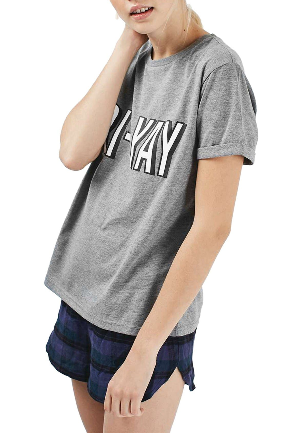Alternate Image 3  - Topshop Fri-Yay Pajamas