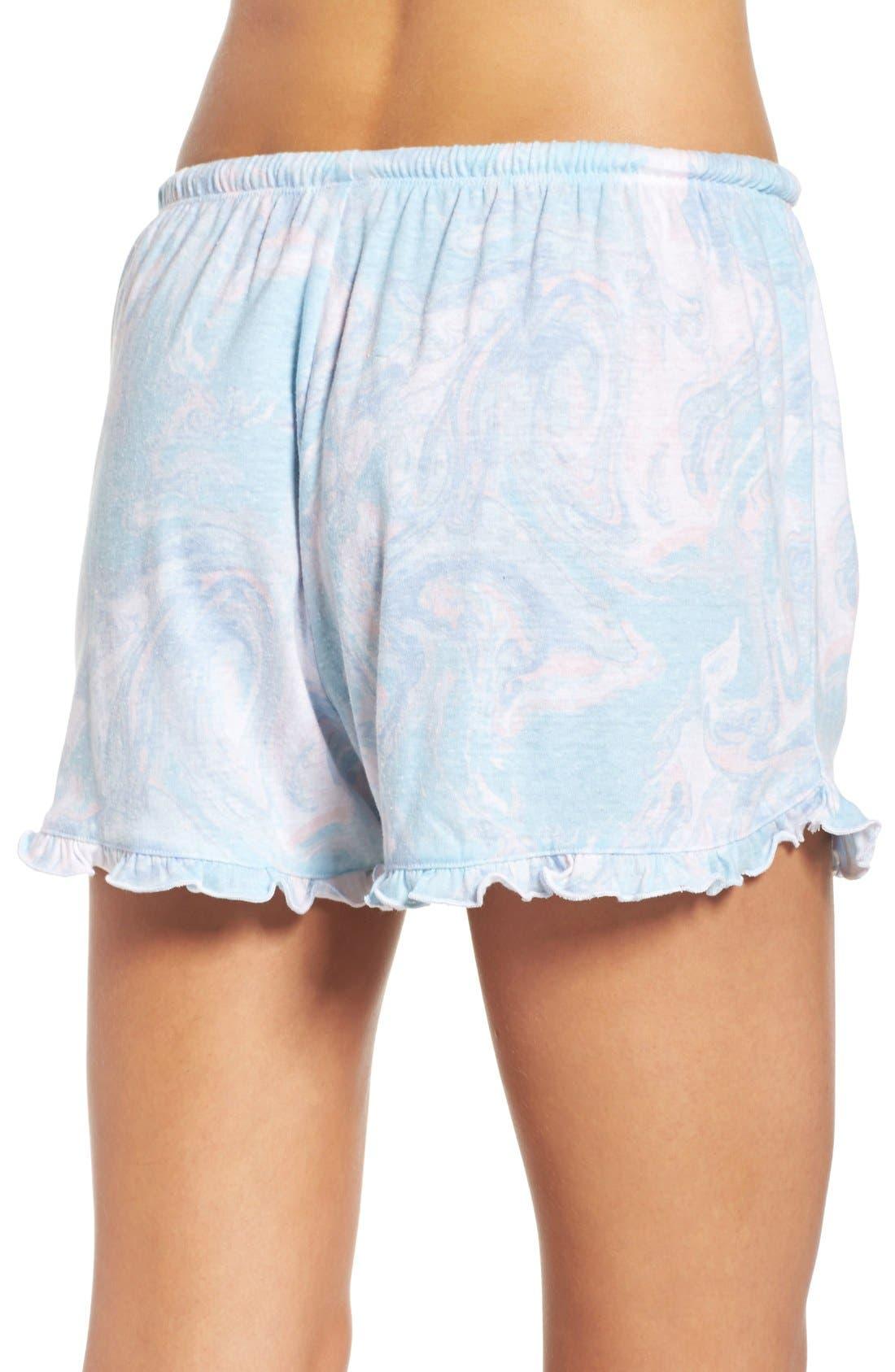 Alternate Image 2  - Make + Model Ruffle Shorts